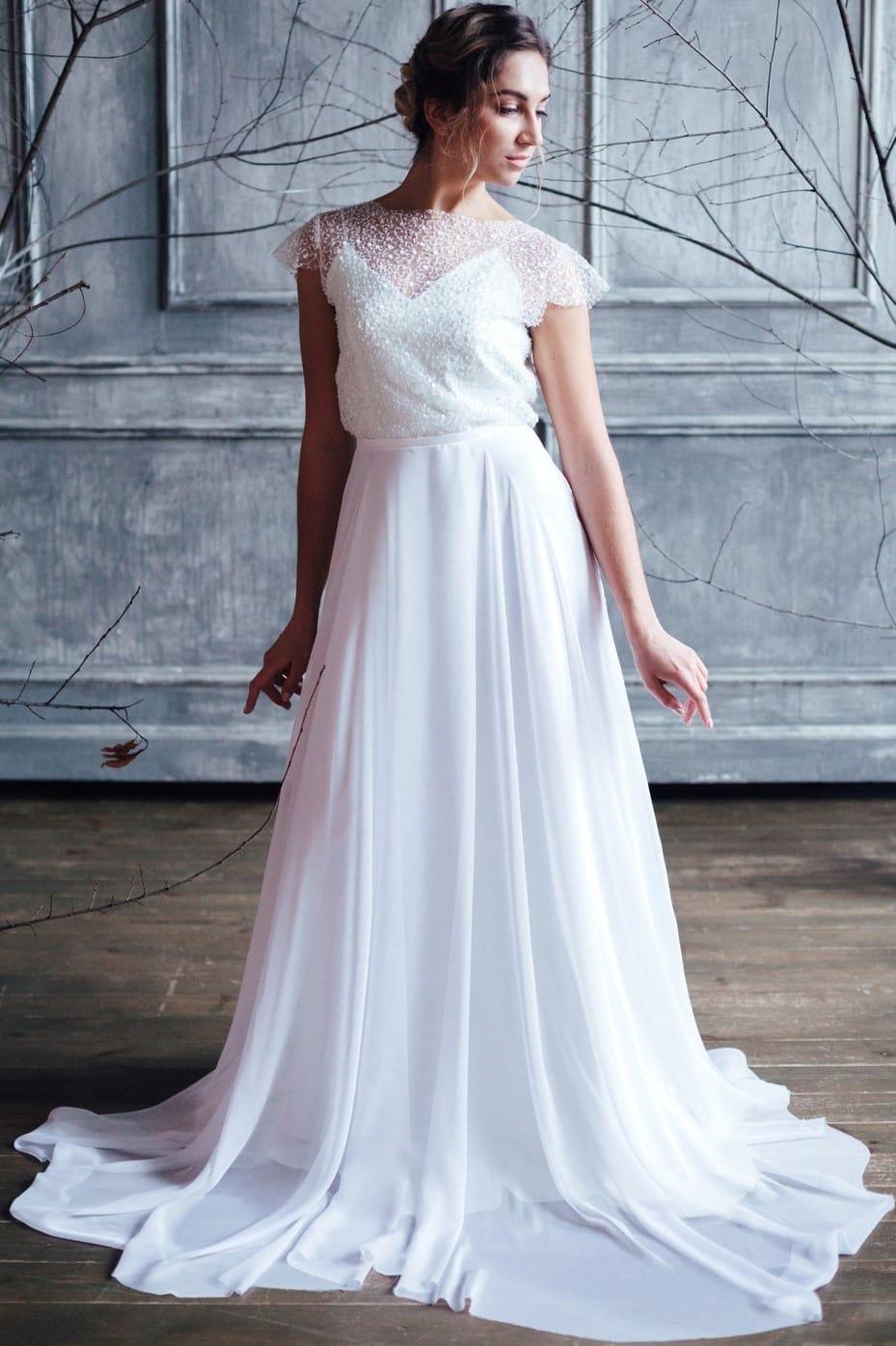 Вечернее платье HARPER, коллекция FLOWER MAGIC, бренд RARE BRIDAL, фото 1