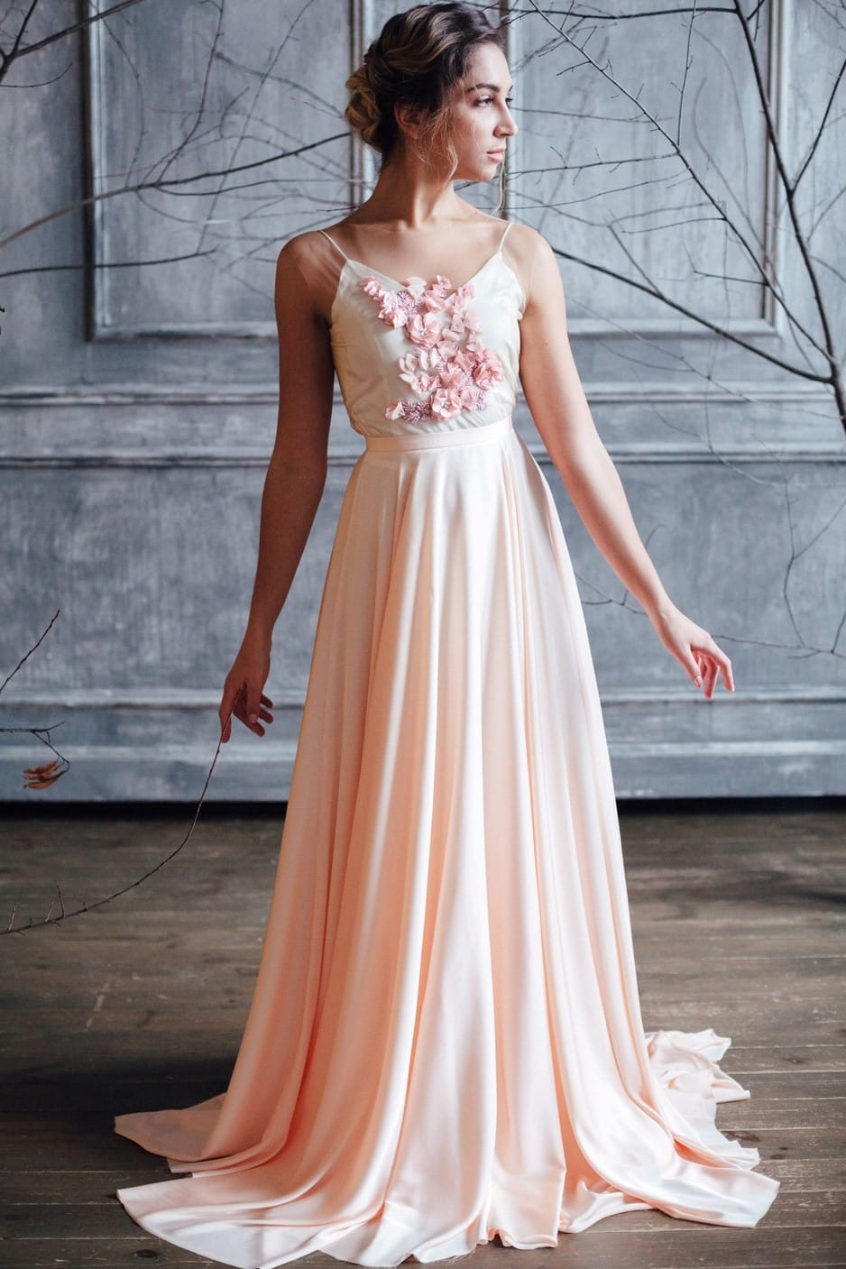 Вечернее платье IONA, коллекция FLOWER MAGIC, бренд RARE BRIDAL, фото 1