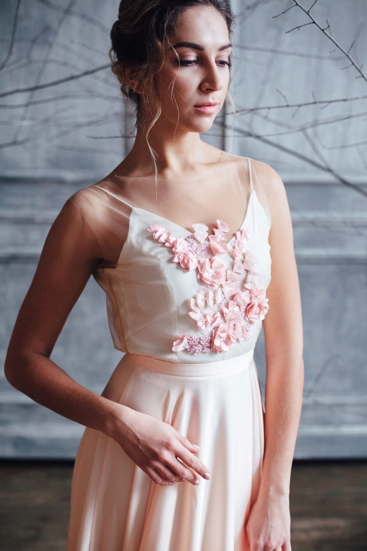 Вечернее платье IONA, коллекция FLOWER MAGIC, бренд RARE BRIDAL, фото 2