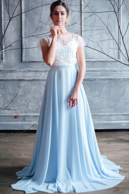 Вечернее платье ISLA, коллекция FLOWER MAGIC, бренд RARE BRIDAL, фото 1