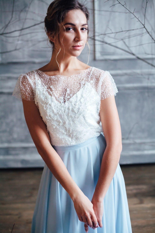 Вечернее платье ISLA, коллекция FLOWER MAGIC, бренд RARE BRIDAL, фото 2