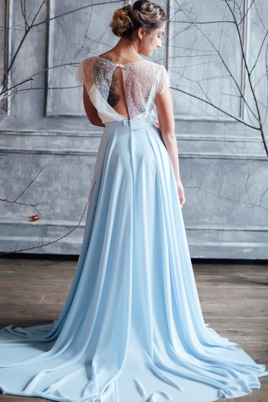 Вечернее платье ISLA, коллекция FLOWER MAGIC, бренд RARE BRIDAL, фото 3