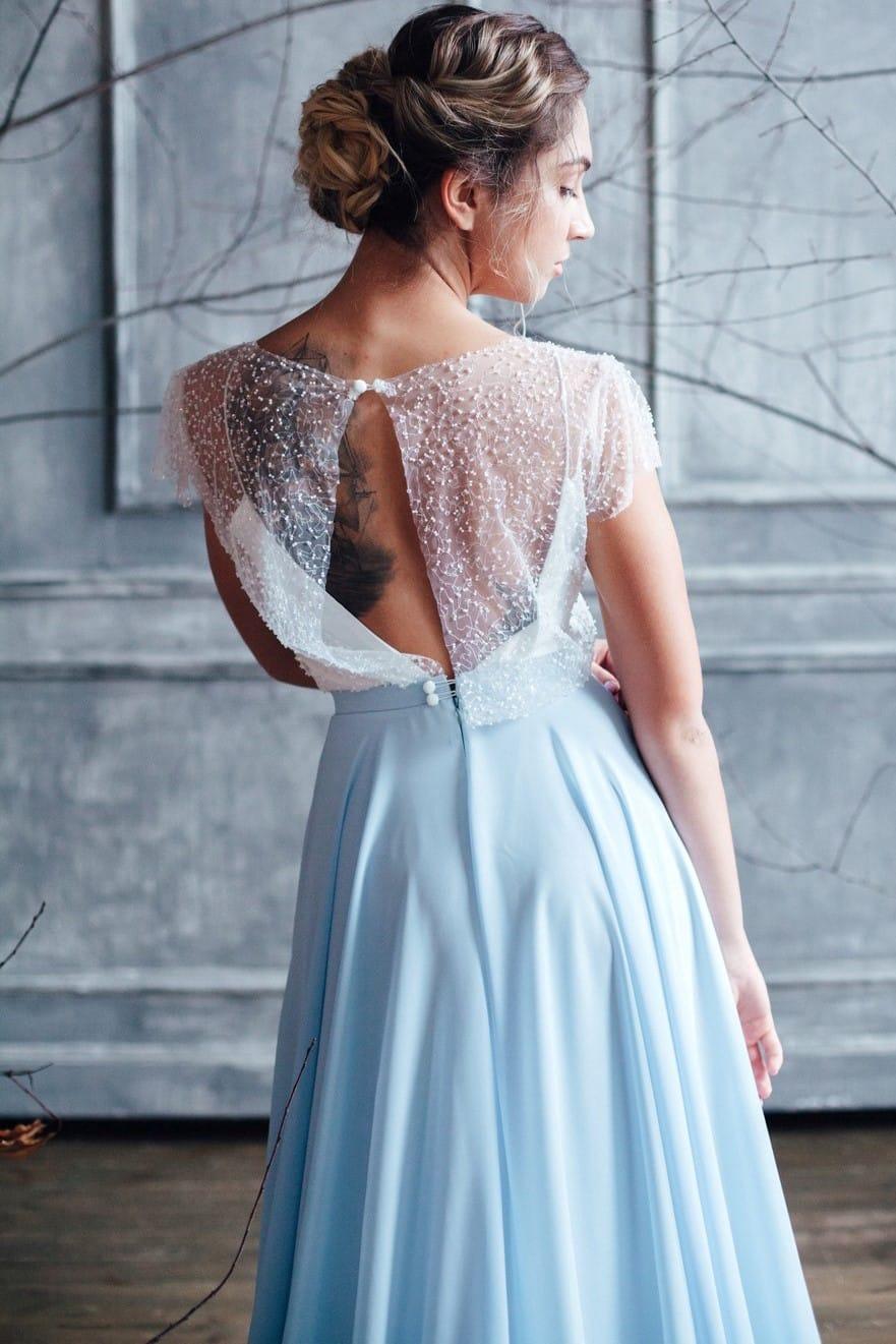 Вечернее платье ISLA, коллекция FLOWER MAGIC, бренд RARE BRIDAL, фото 5