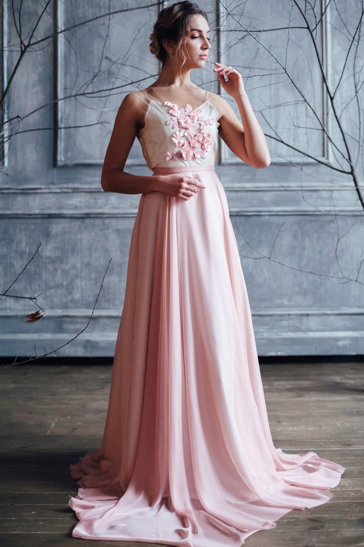 Вечернее платье JANI, коллекция FLOWER MAGIC, бренд RARE BRIDAL, фото 1