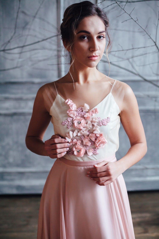 Вечернее платье JANI, коллекция FLOWER MAGIC, бренд RARE BRIDAL, фото 3