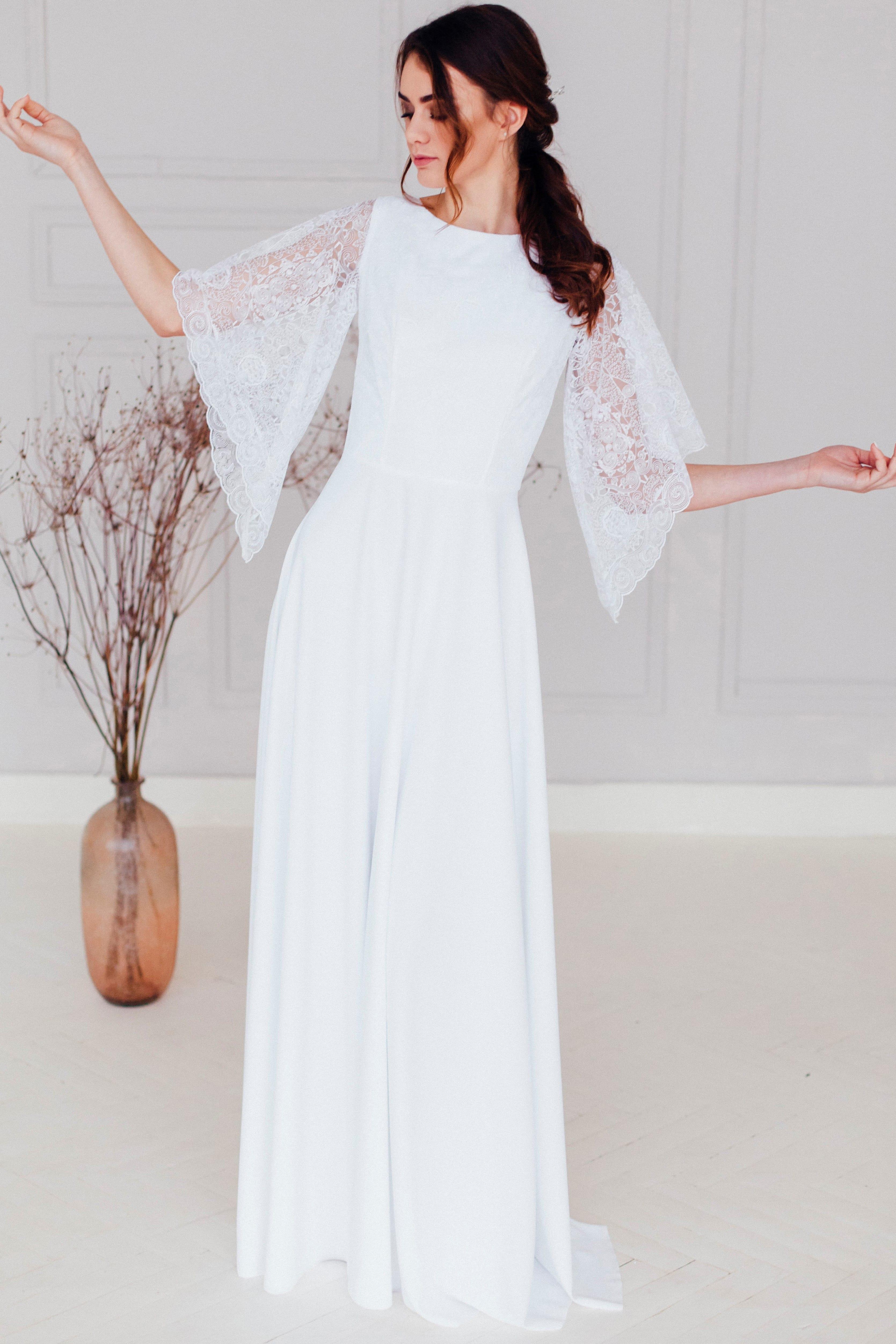 Свадебное платье KIMI, коллекция REFINED ELEGANCE, бренд OKA NOMO, фото 1