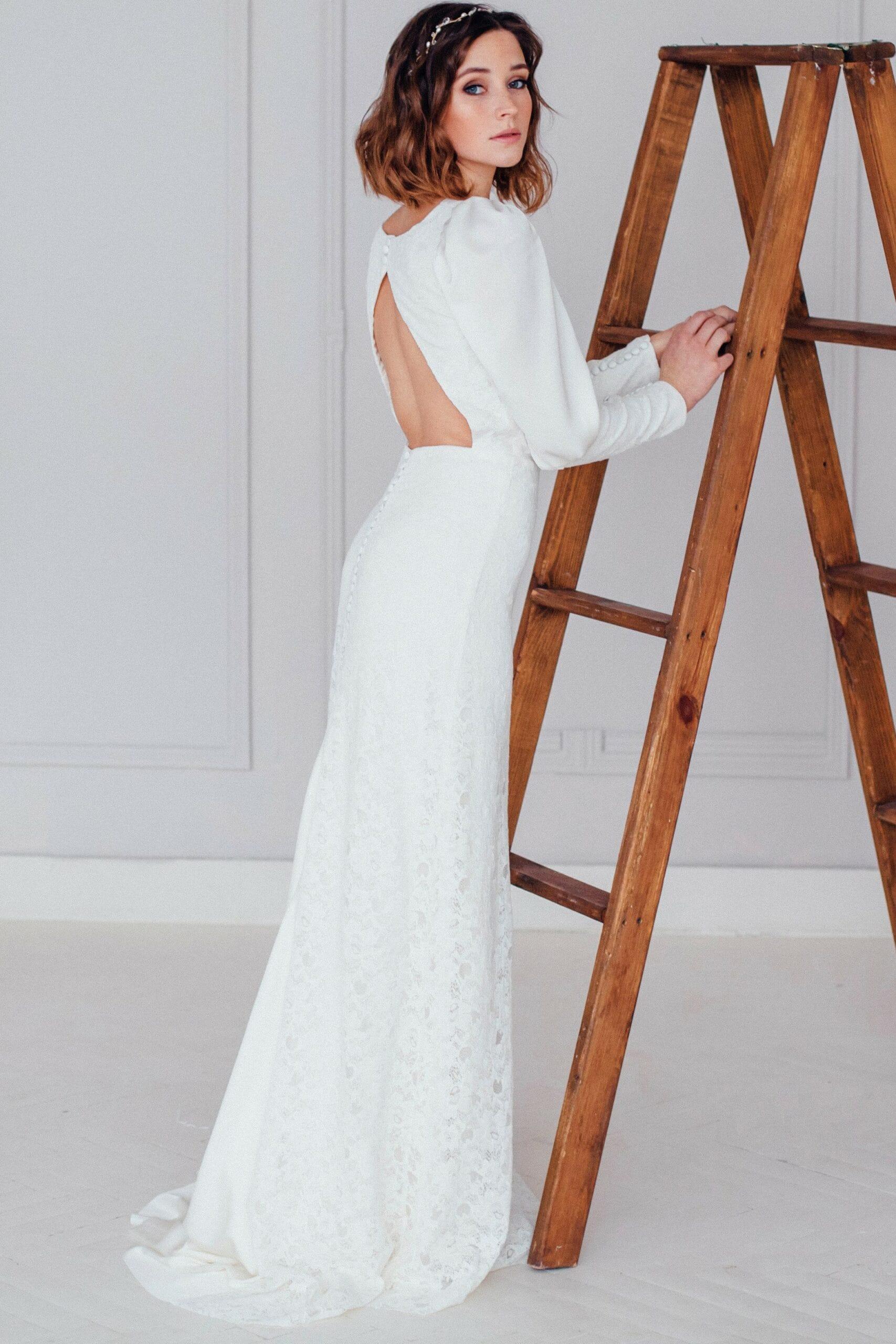 Свадебное платье KIN, коллекция REFINED ELEGANCE, бренд OKA NOMO, фото 4
