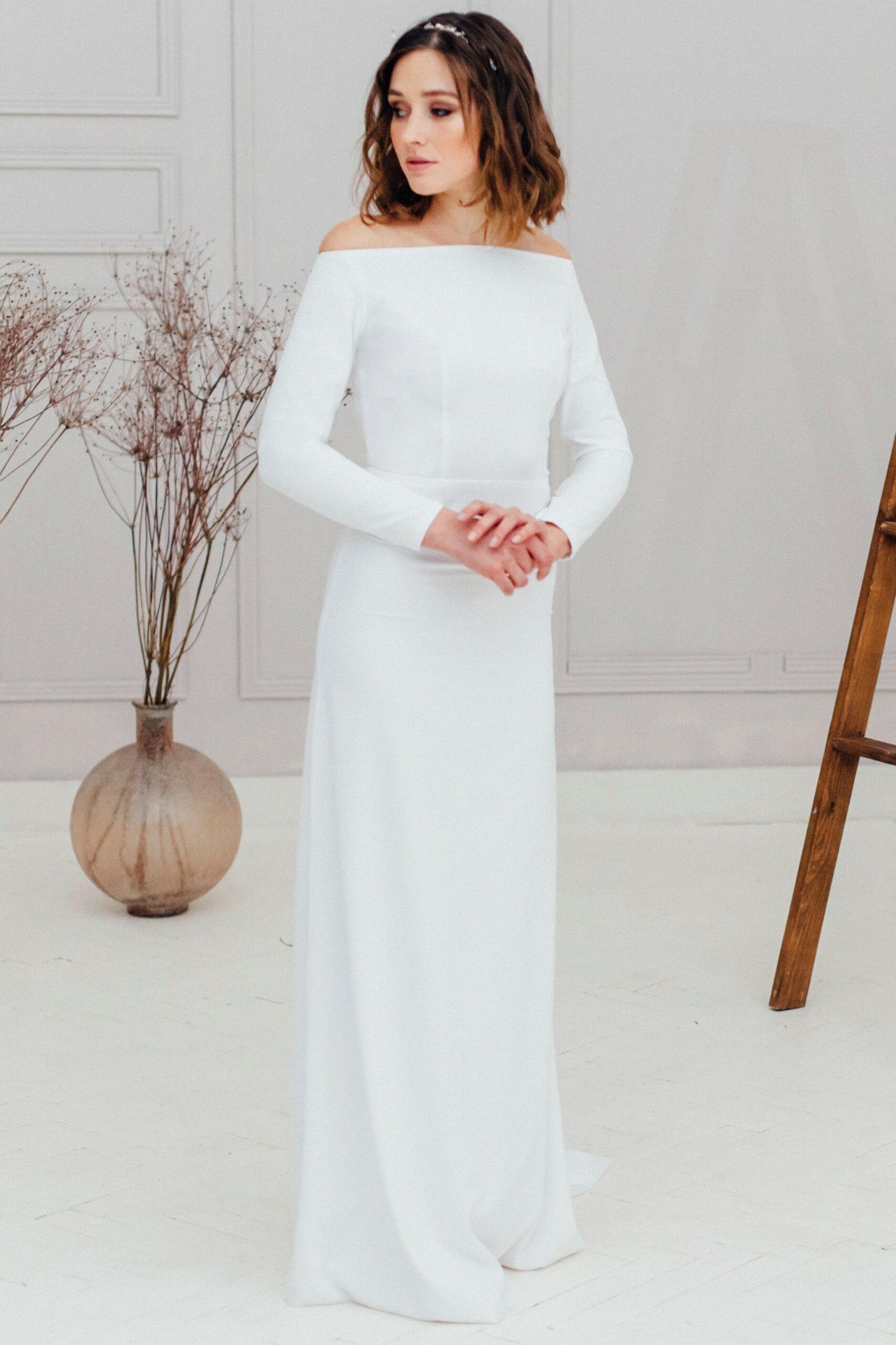 Свадебное платье MAINE, коллекция REFINED ELEGANCE, бренд OKA NOMO, фото 3