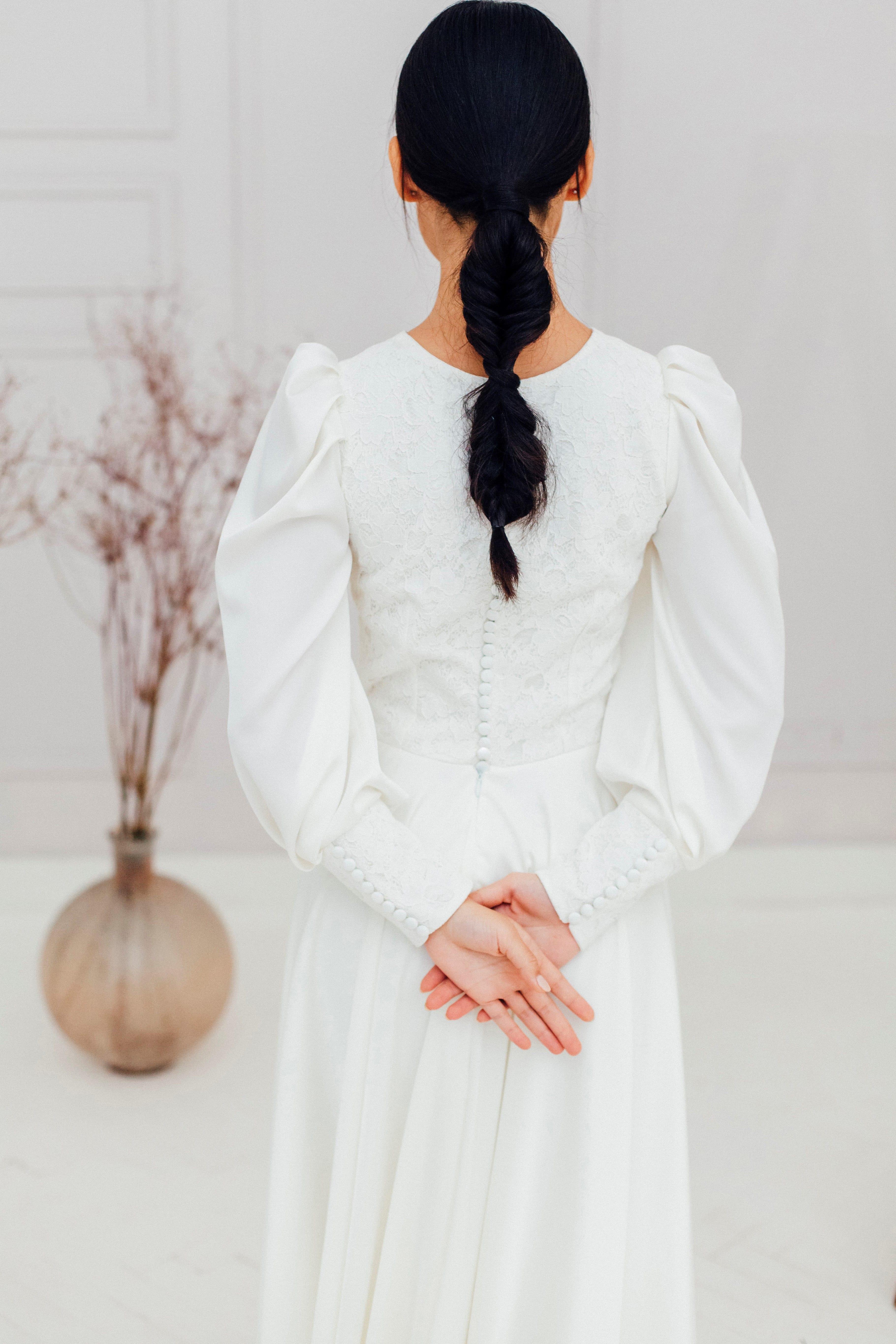 Свадебное платье MALI, коллекция REFINED ELEGANCE, бренд OKA NOMO, фото 2