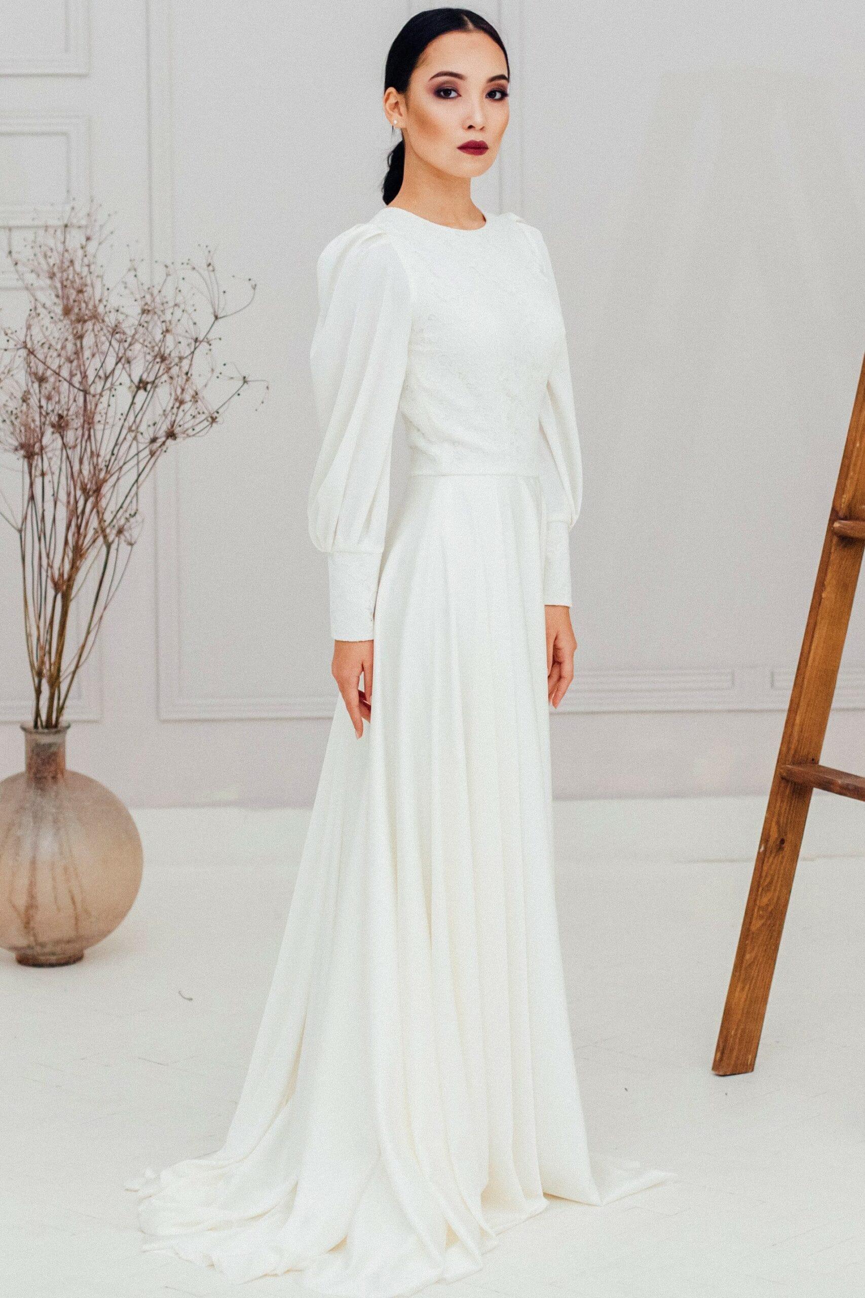 Свадебное платье MALI, коллекция REFINED ELEGANCE, бренд OKA NOMO, фото 4