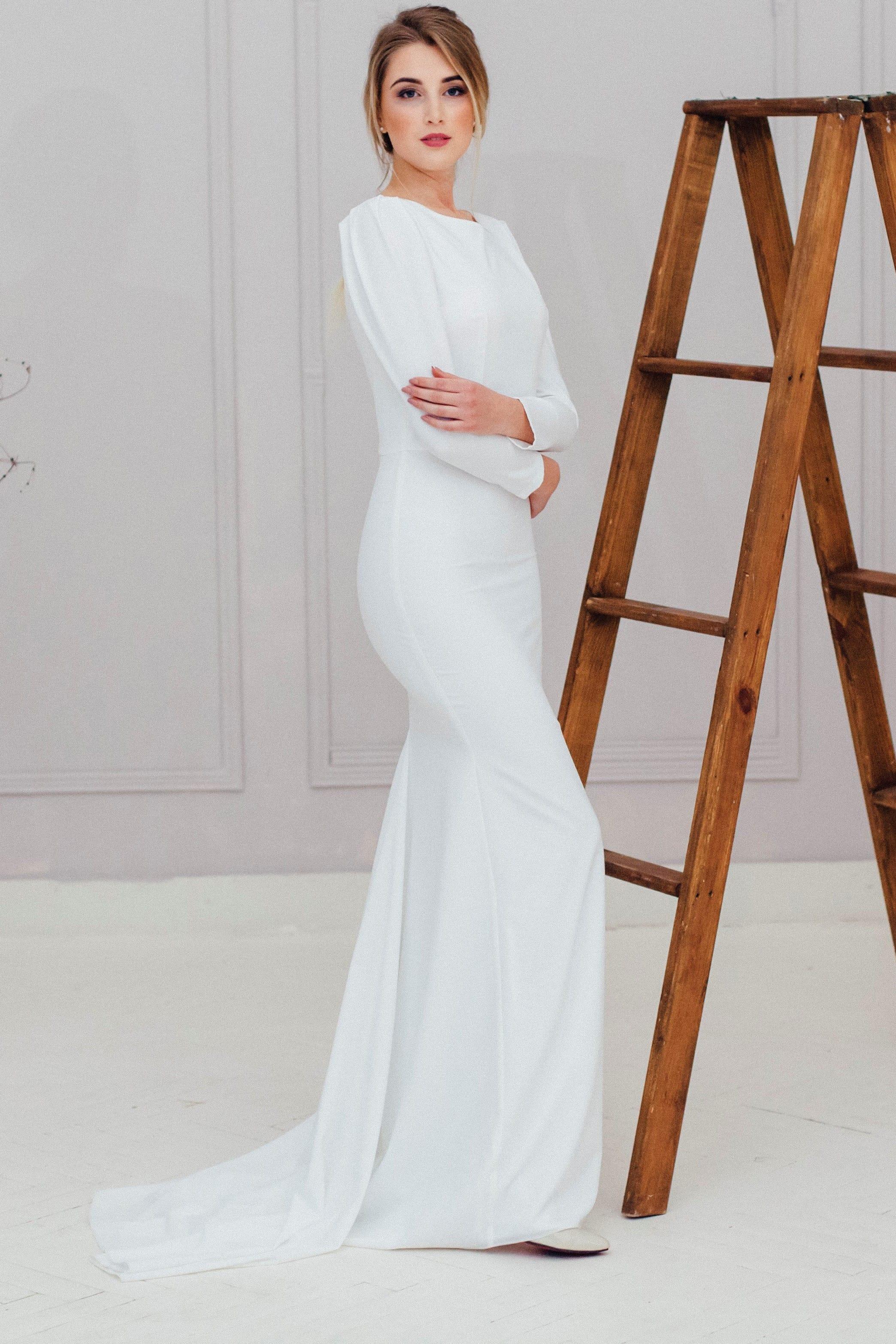 Свадебное платье MAY, коллекция REFINED ELEGANCE, бренд OKA NOMO, фото 4