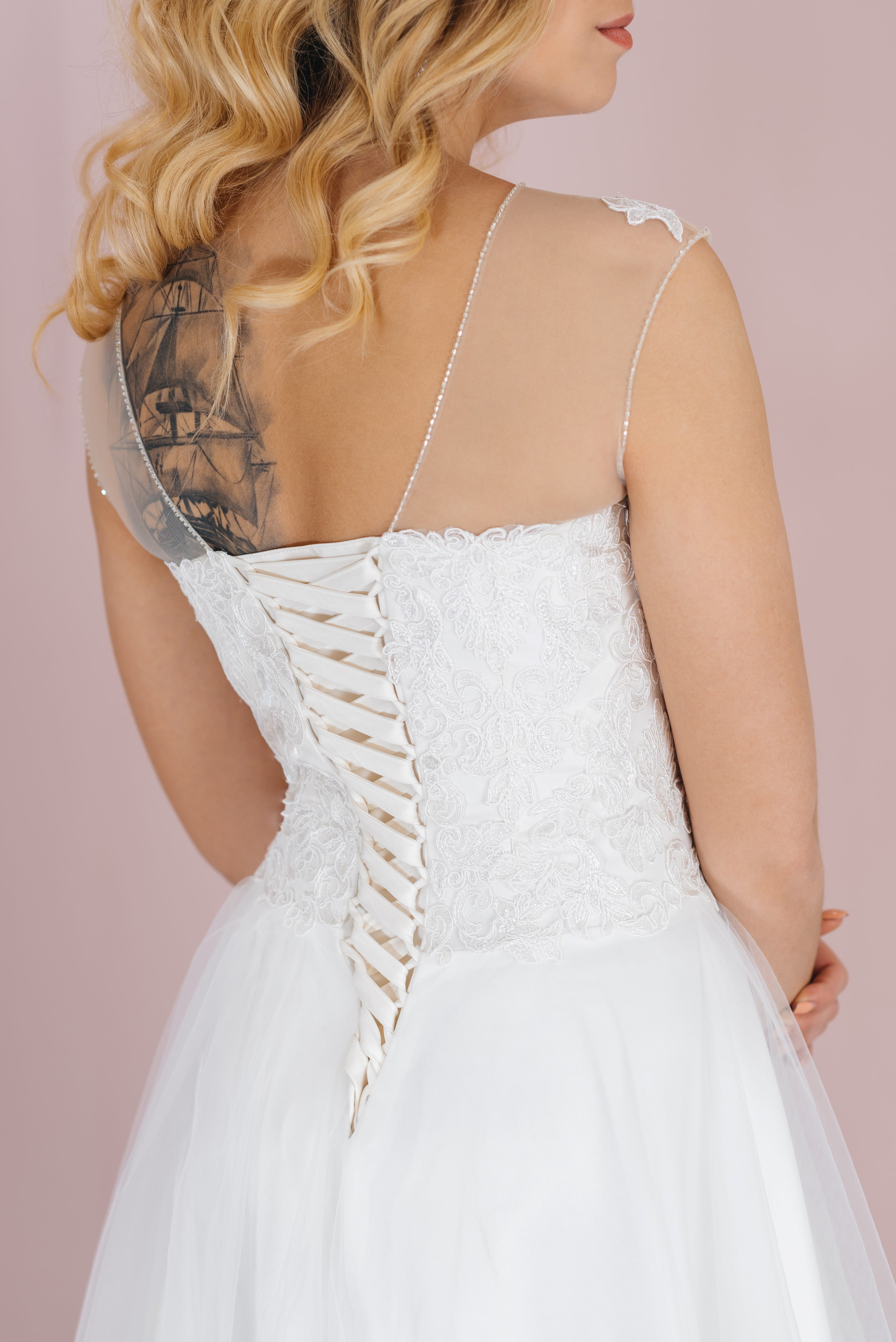 Свадебное платье MIA, коллекция LOFT, бренд RARE BRIDAL, фото 3