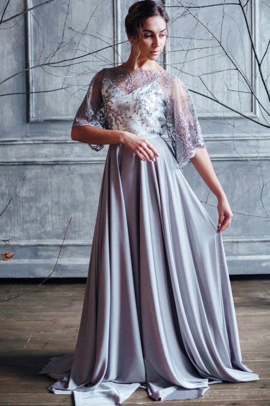 Вечернее платье MIKA, коллекция FLOWER MAGIC, бренд RARE BRIDAL, фото 1