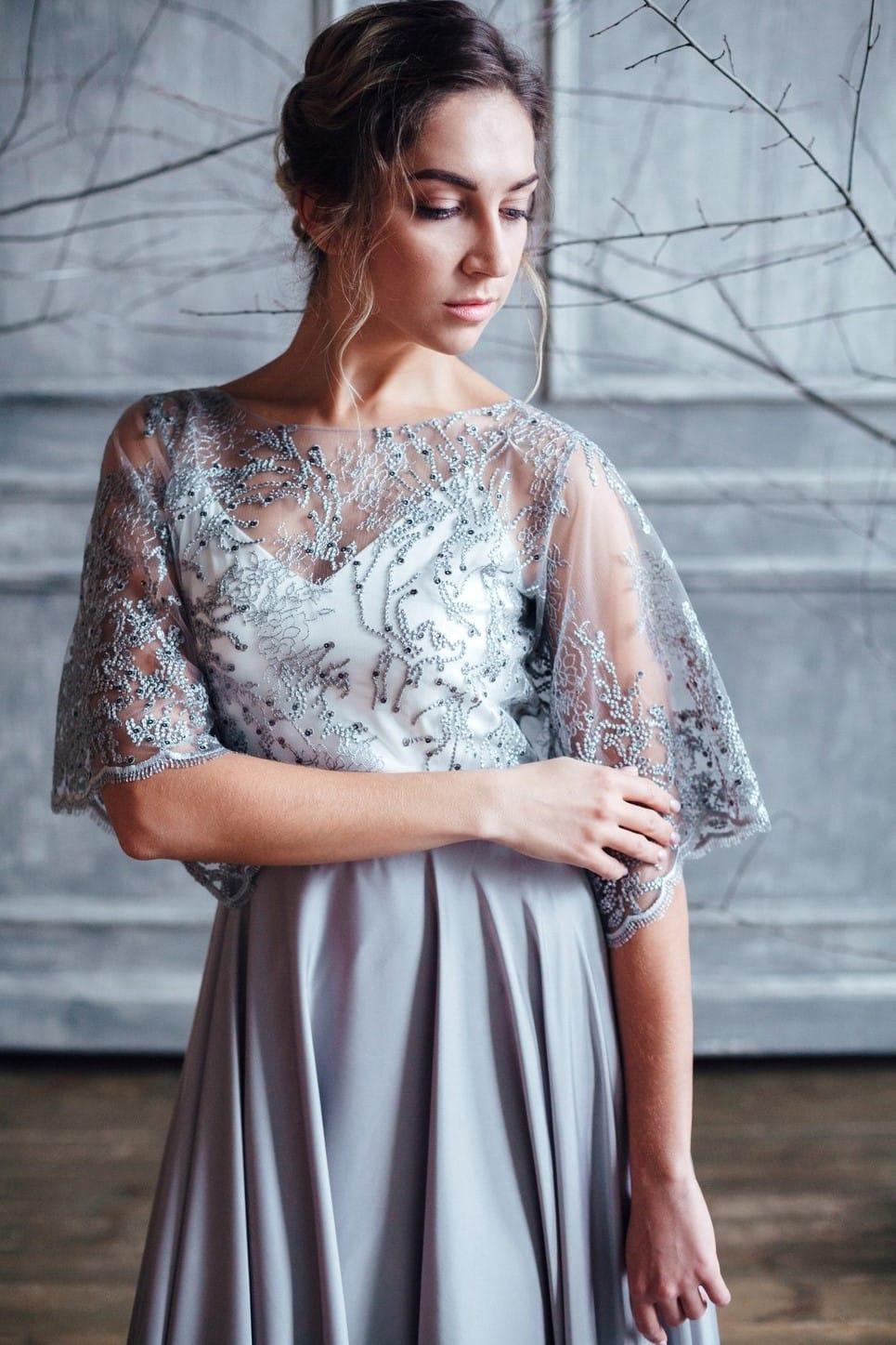 Вечернее платье MIKA, коллекция FLOWER MAGIC, бренд RARE BRIDAL, фото 2