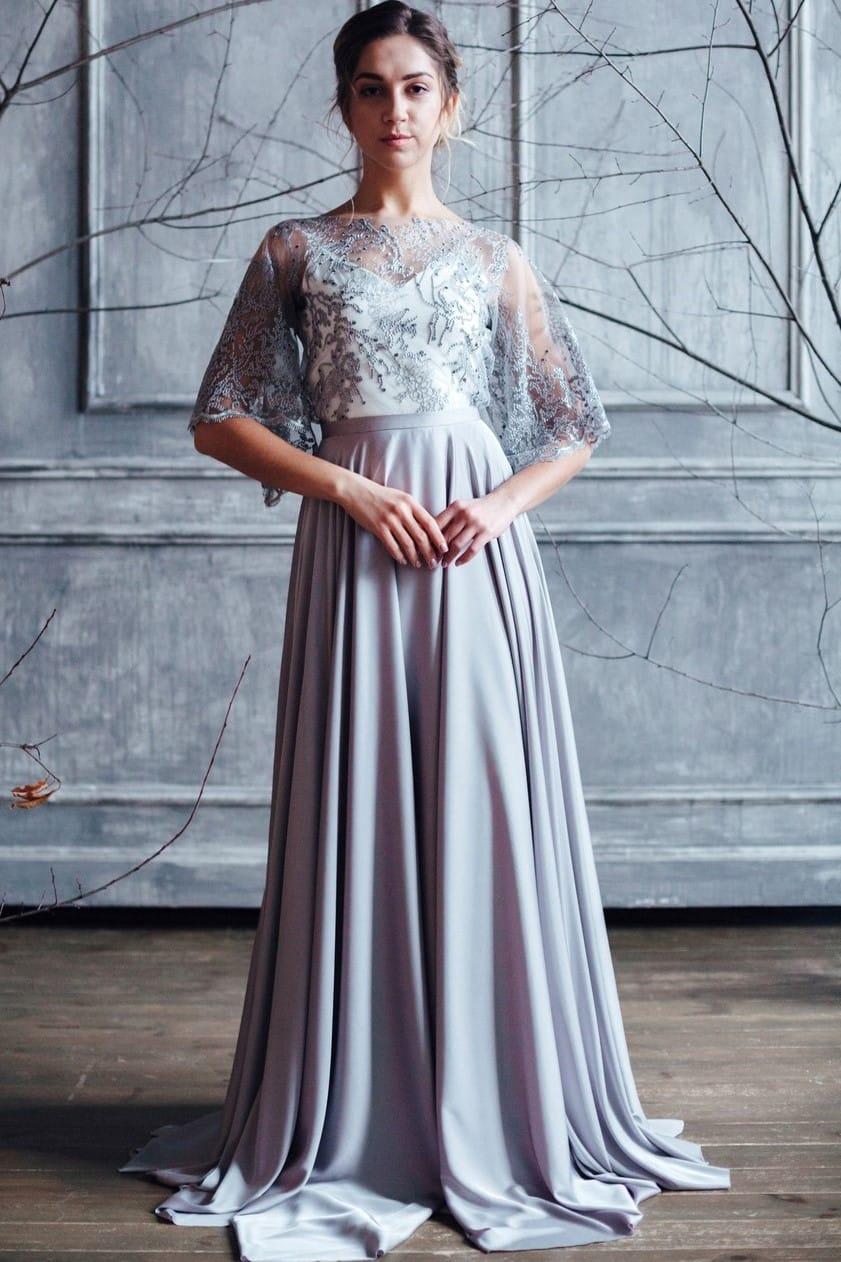 Вечернее платье MIKA, коллекция FLOWER MAGIC, бренд RARE BRIDAL, фото 3