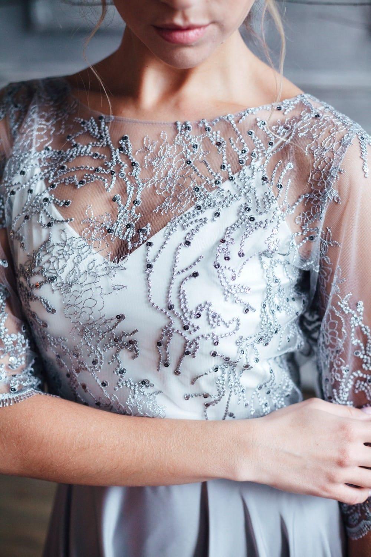 Вечернее платье MIKA, коллекция FLOWER MAGIC, бренд RARE BRIDAL, фото 4