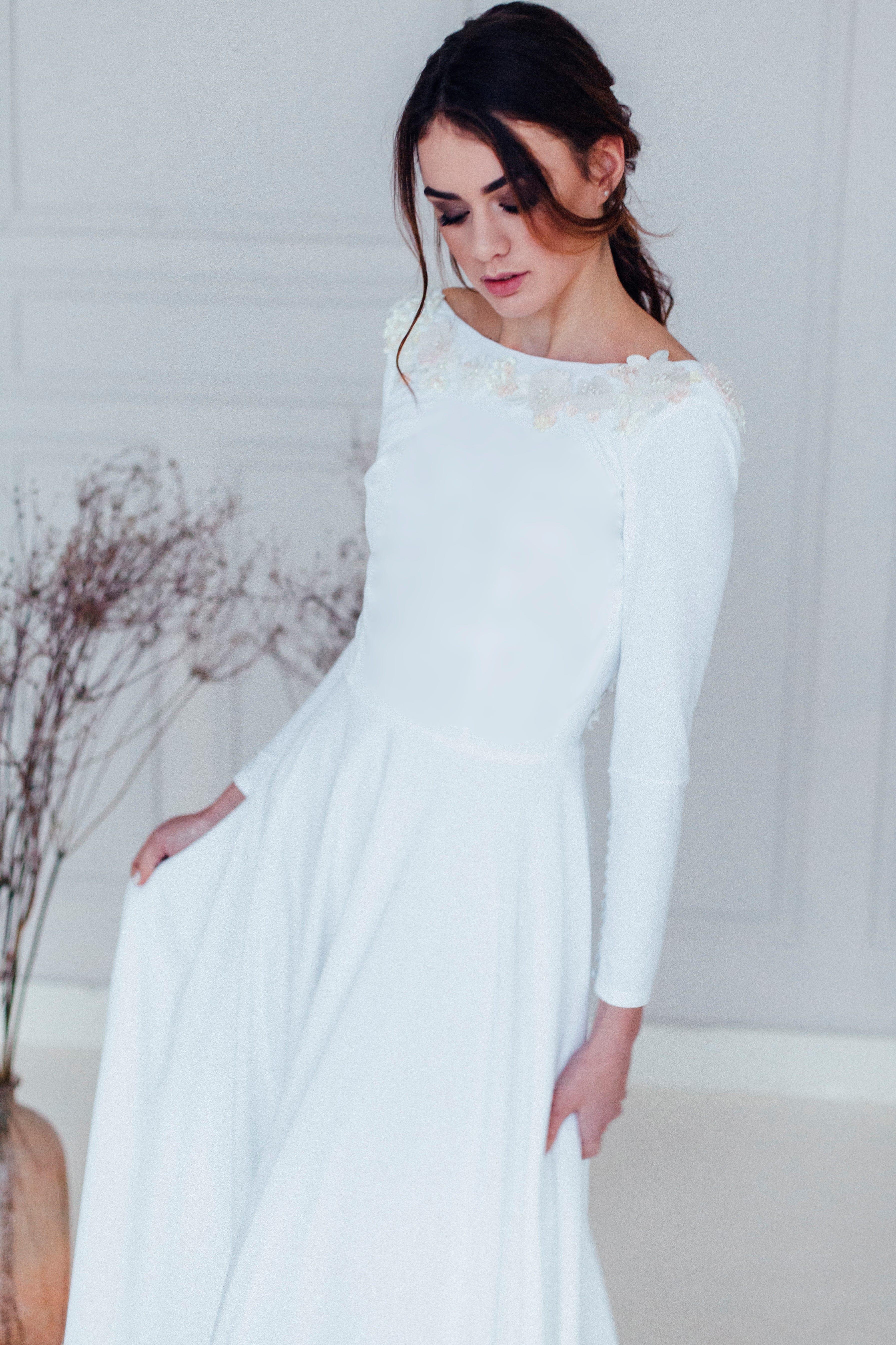 Свадебное платье MINORI, коллекция REFINED ELEGANCE, бренд OKA NOMO, фото 1