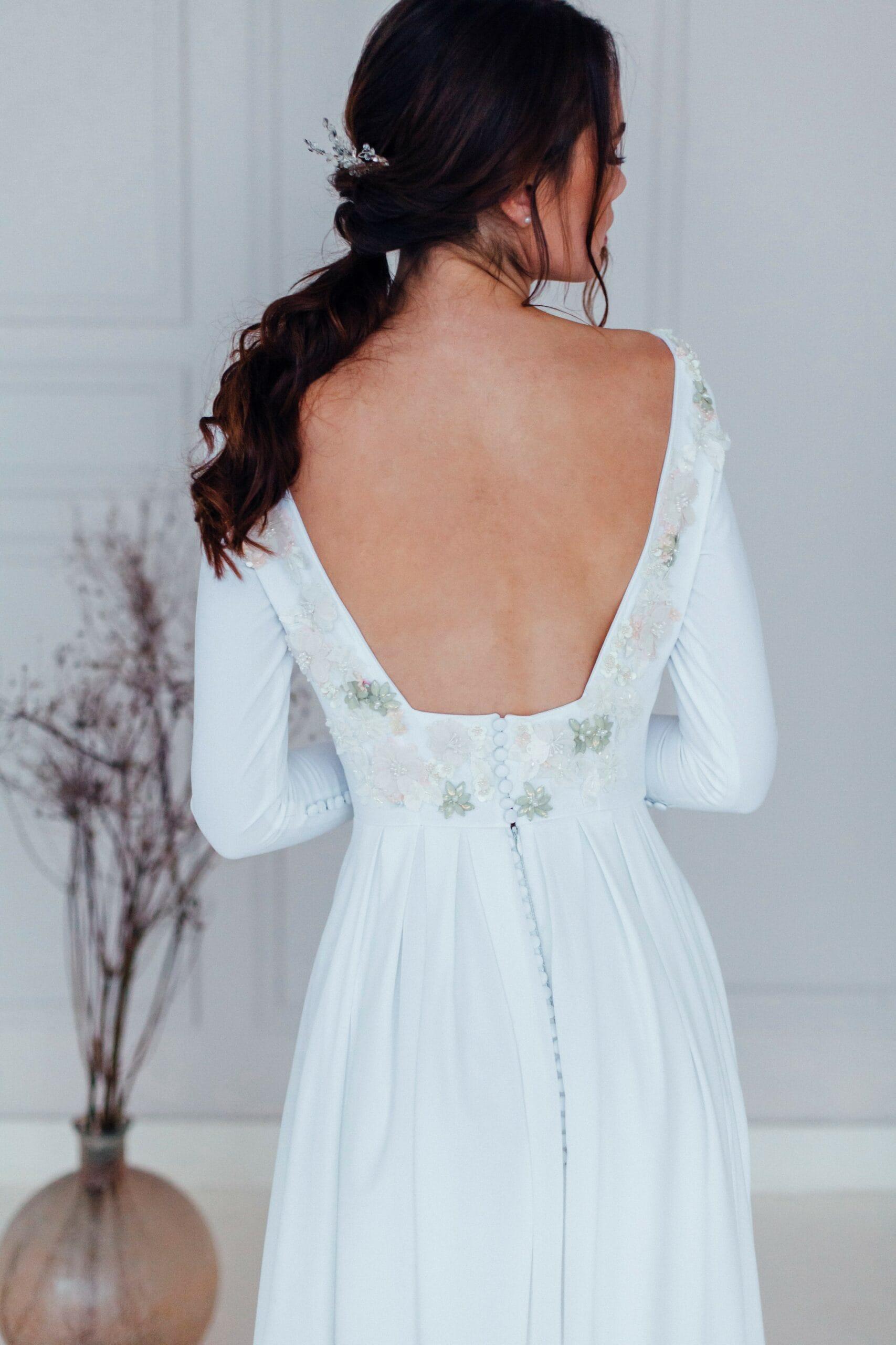 Свадебное платье MINORI, коллекция REFINED ELEGANCE, бренд OKA NOMO, фото 2
