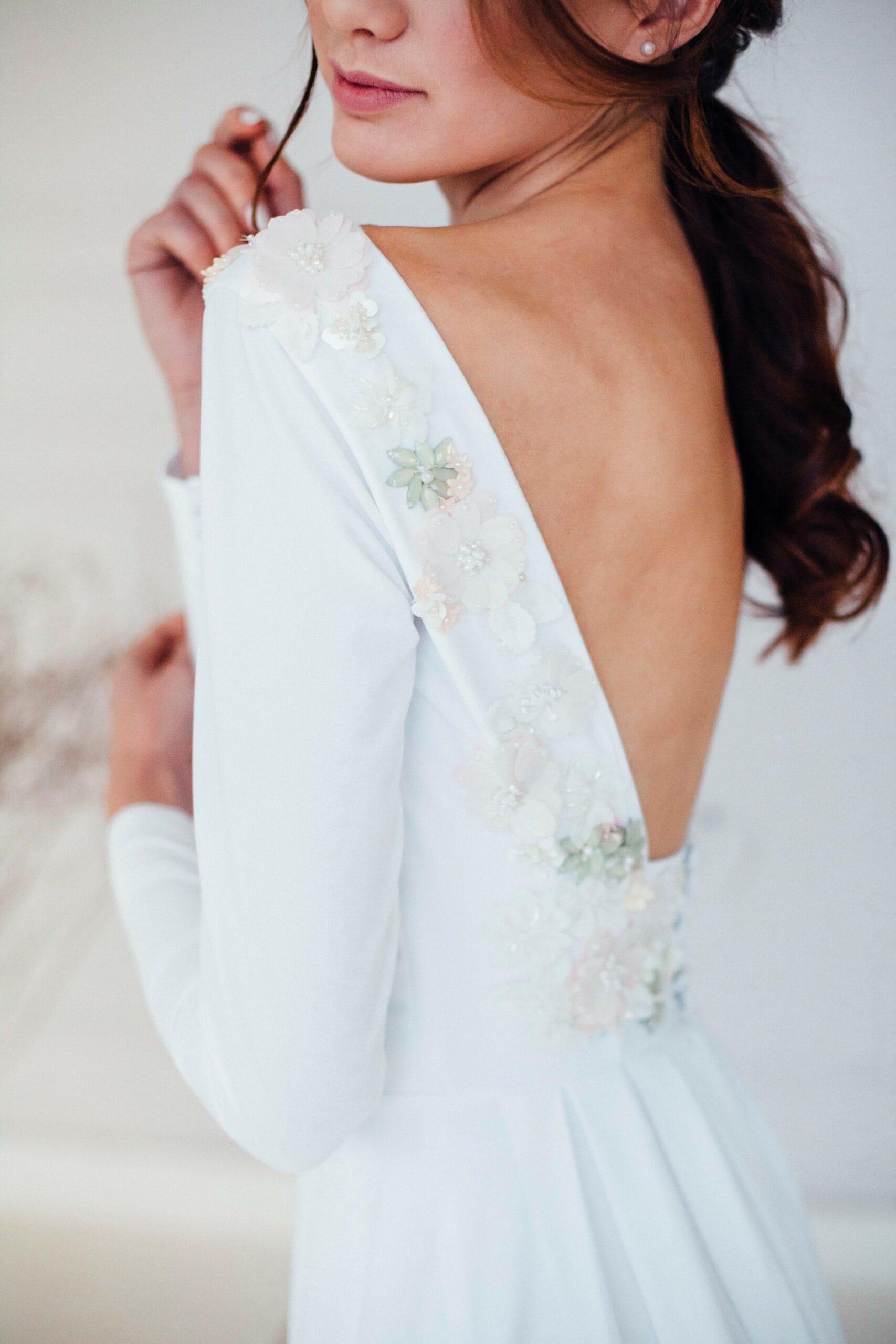Свадебное платье MINORI, коллекция REFINED ELEGANCE, бренд OKA NOMO, фото 3