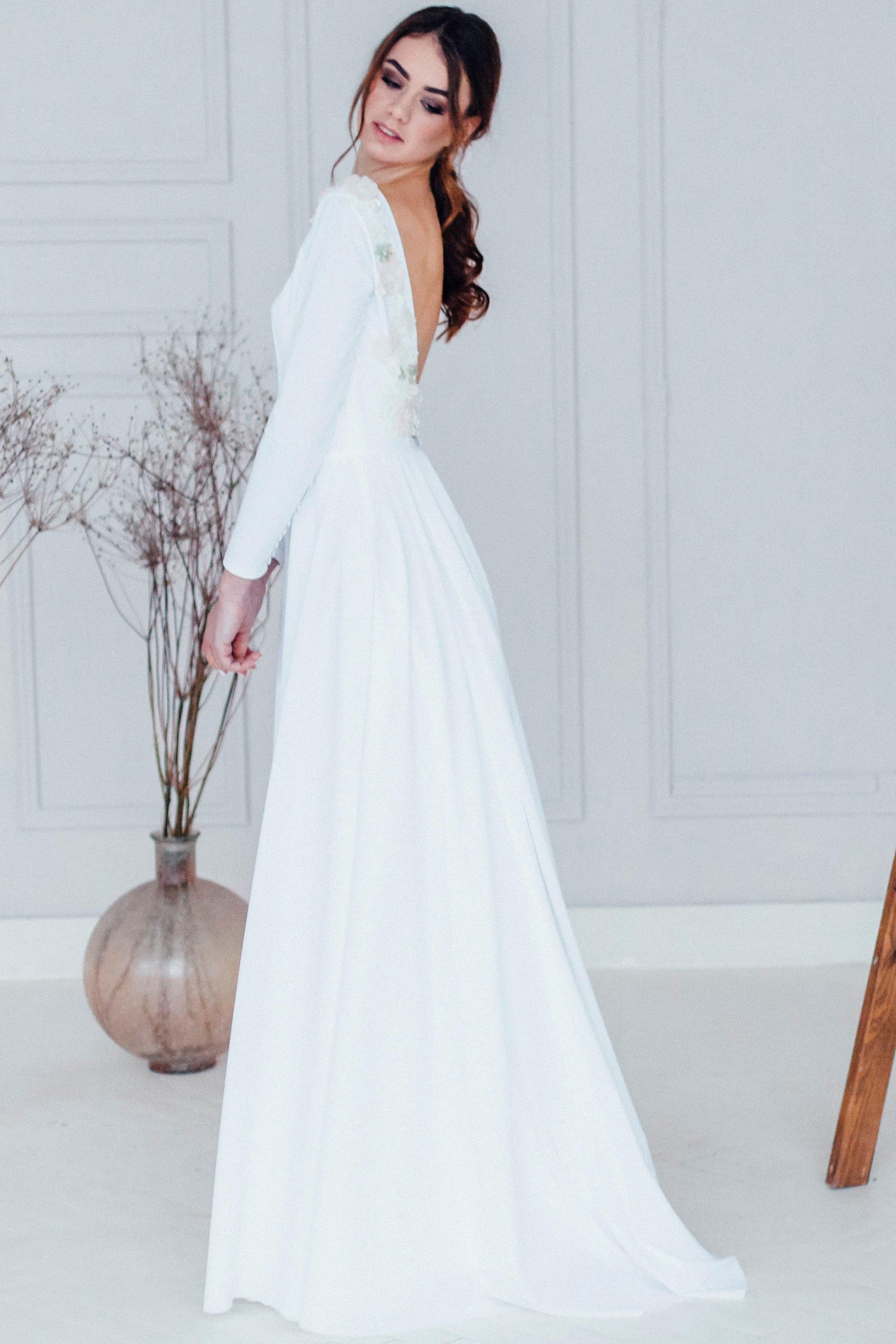 Свадебное платье MINORI, коллекция REFINED ELEGANCE, бренд OKA NOMO, фото 4