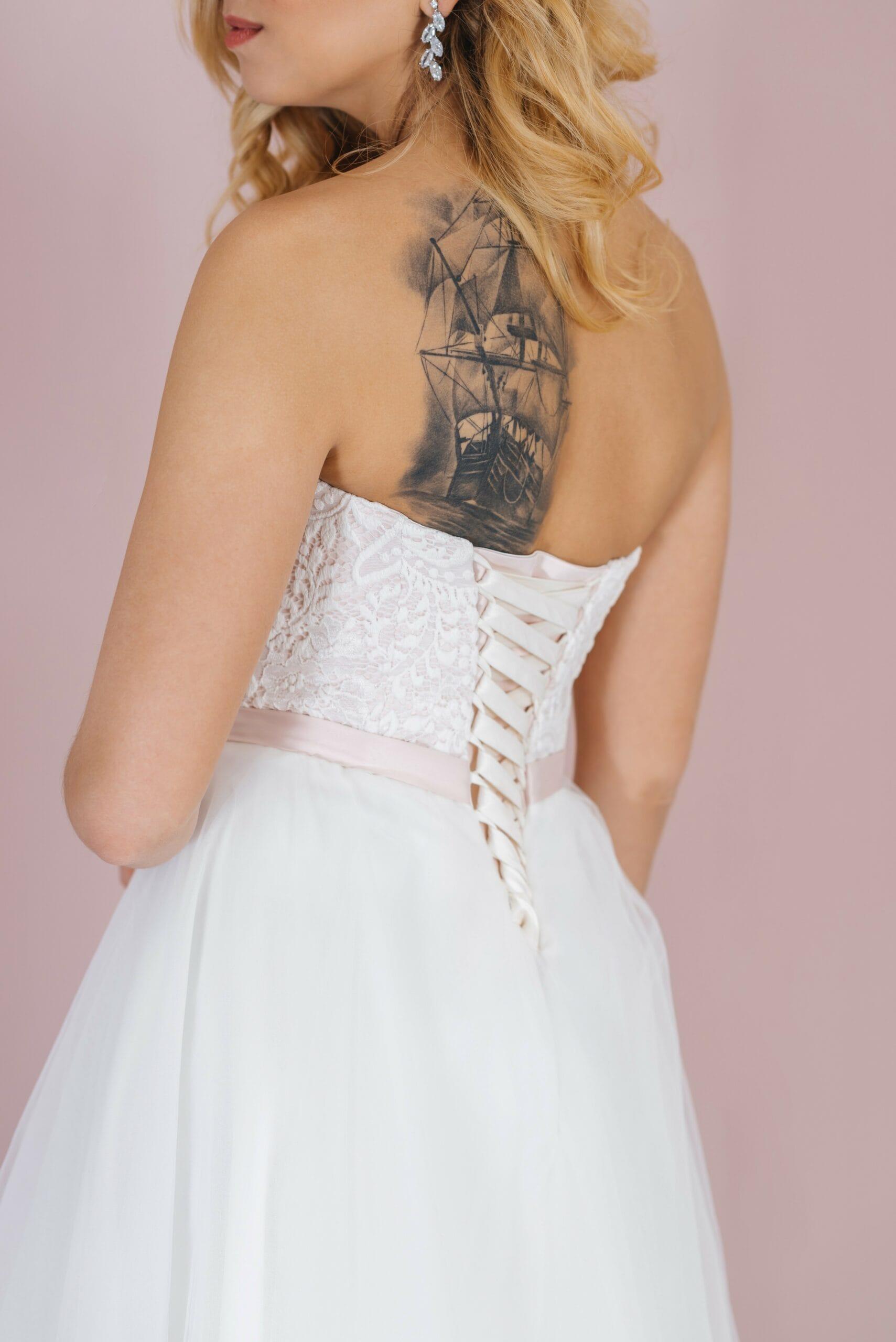 Свадебное платье NORA, коллекция LOFT, бренд RARE BRIDAL, фото 4