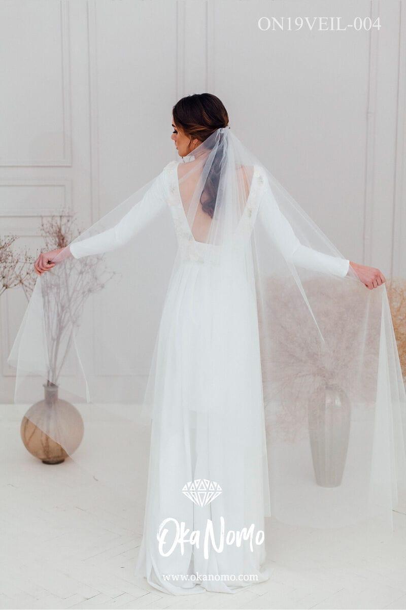 Свадебная фата для венчания, артикул ON19VEIL-004, фото №2