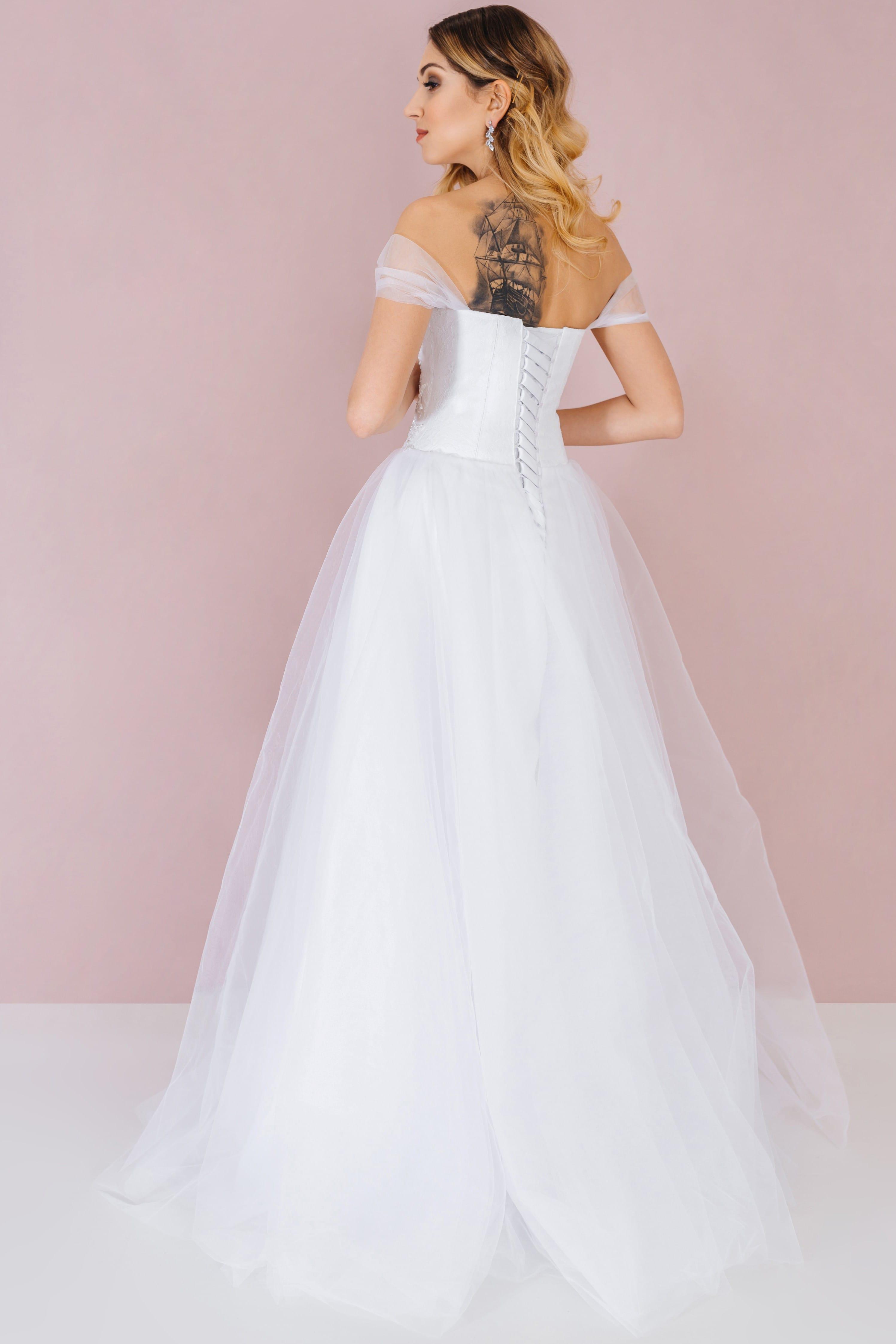 Свадебное платье PEGGIE, коллекция LOFT, бренд RARE BRIDAL, фото 3