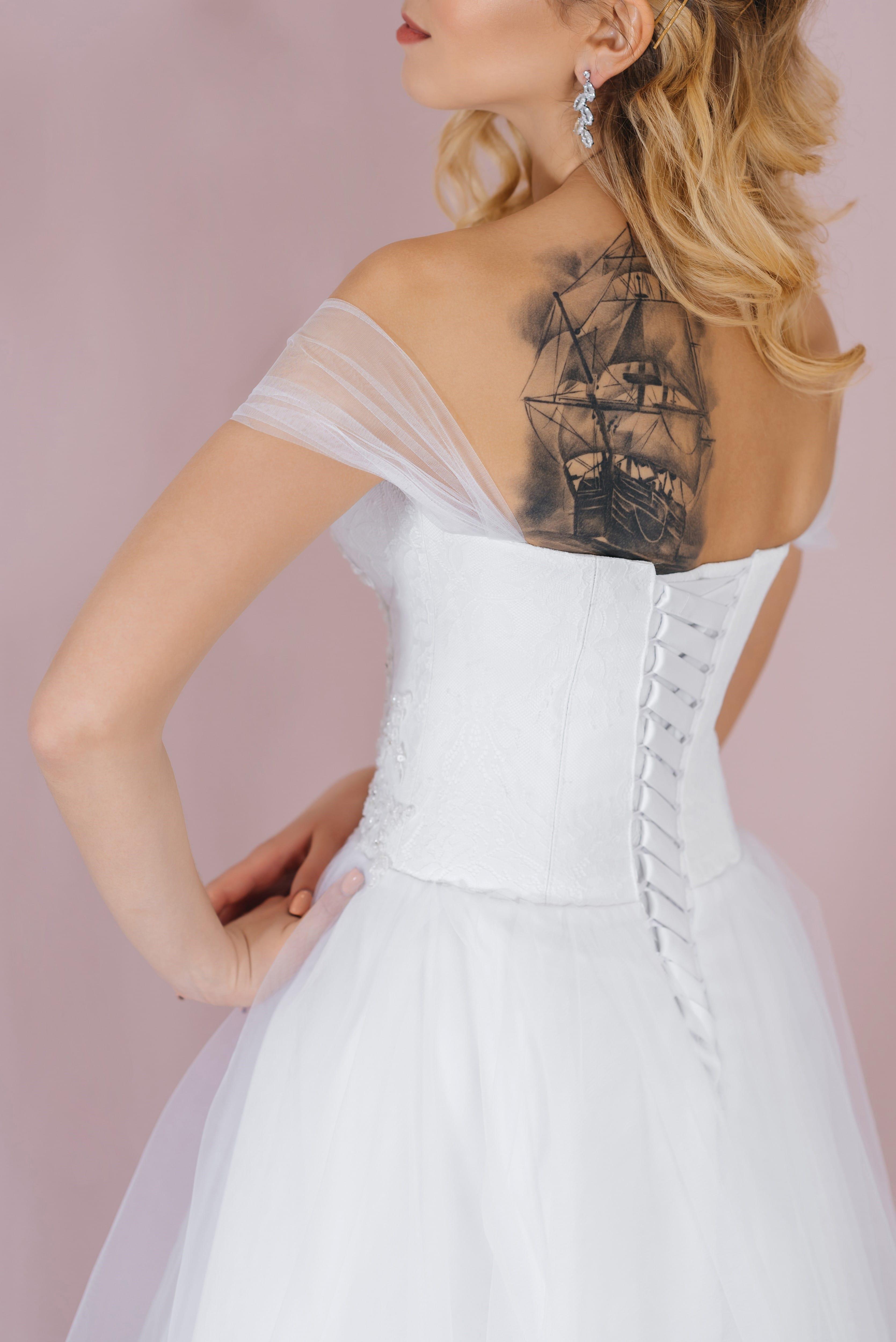 Свадебное платье PEGGIE, коллекция LOFT, бренд RARE BRIDAL, фото 4