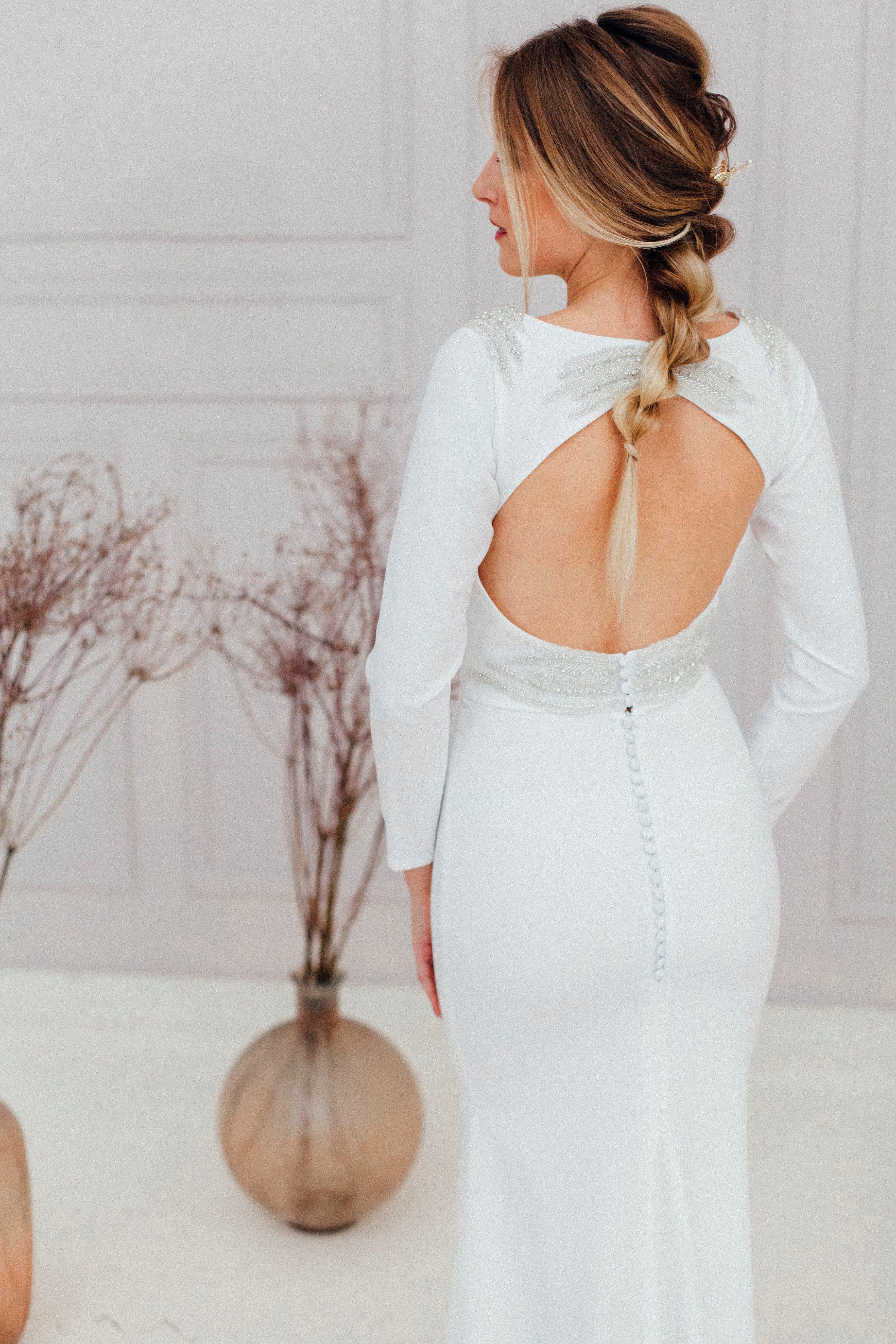 Свадебное платье RAY, коллекция REFINED ELEGANCE, бренд OKA NOMO, фото 2
