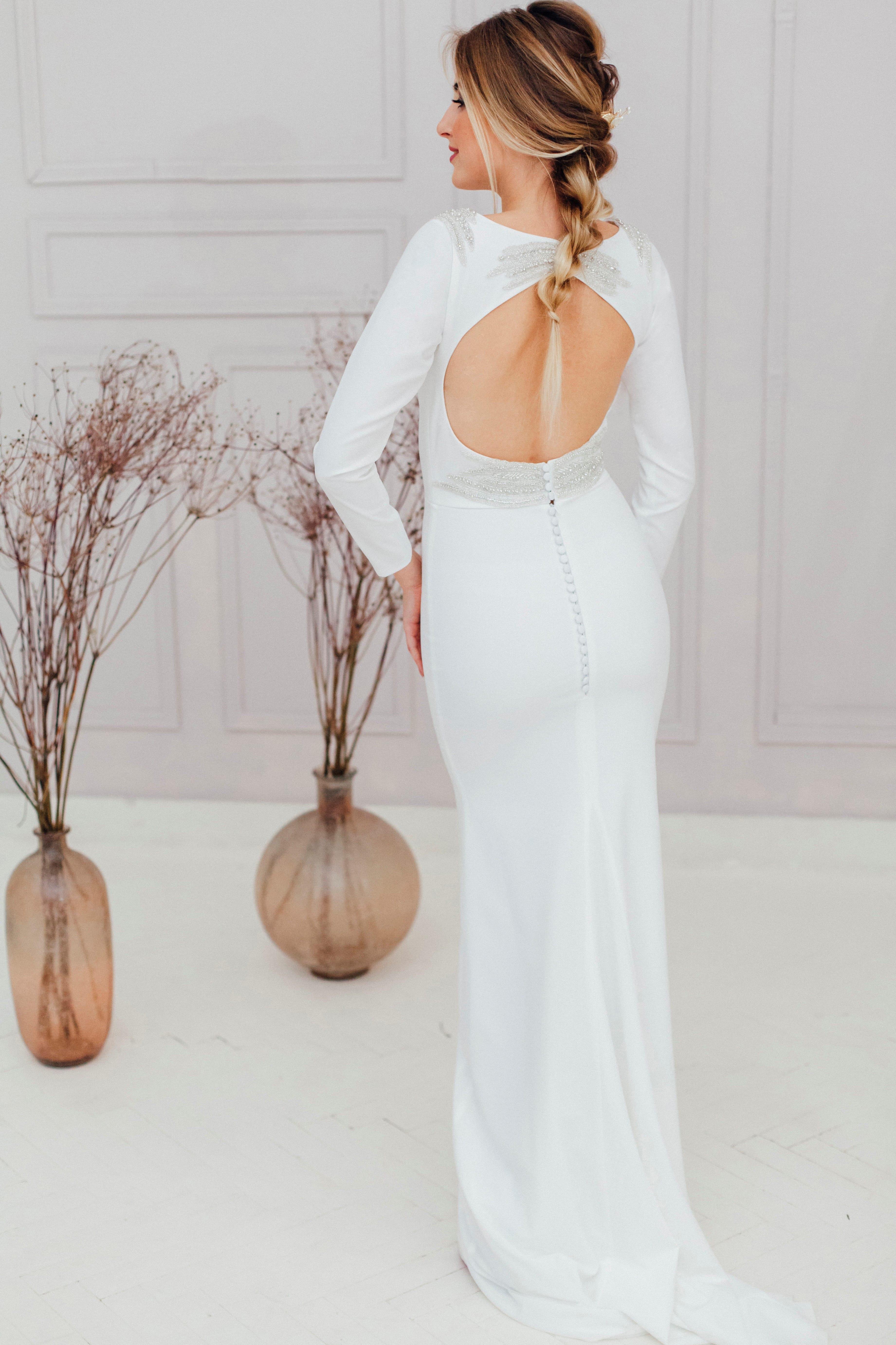 Свадебное платье RAY, коллекция REFINED ELEGANCE, бренд OKA NOMO, фото 3