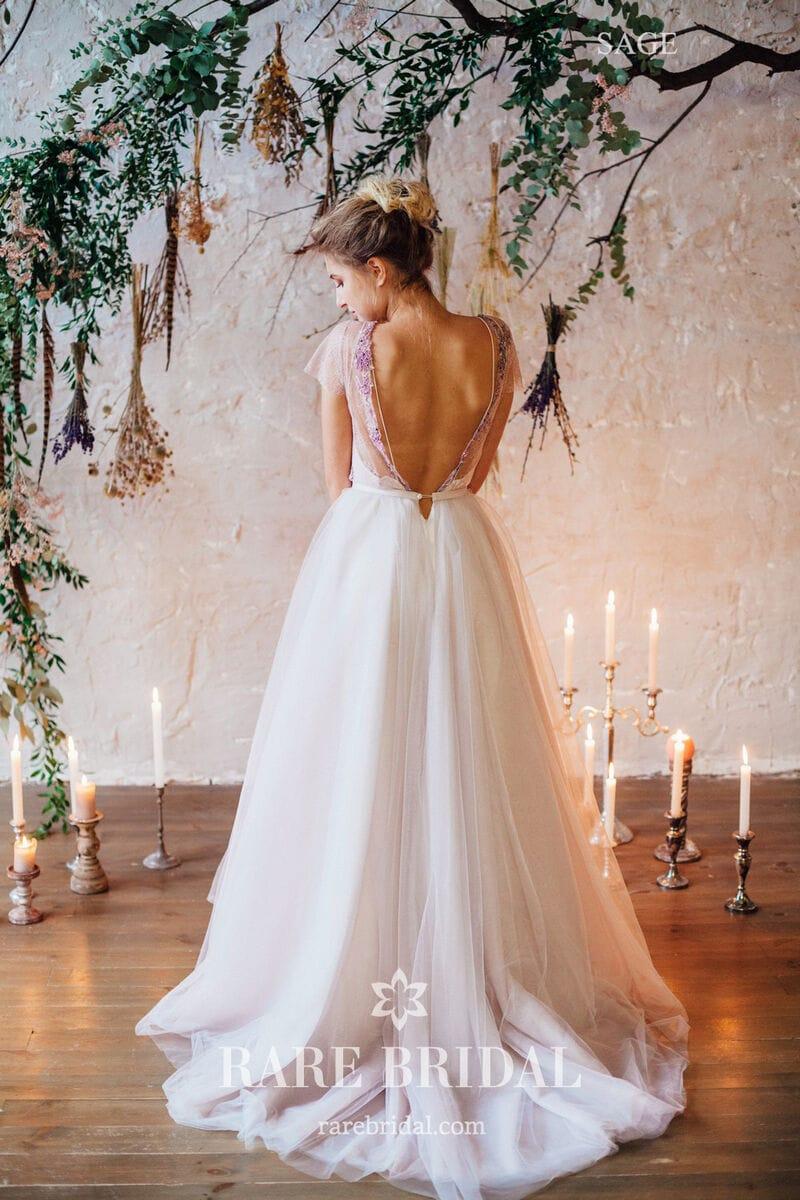 Свадебное платье SAGE, коллекция THE LOOK OF ANGEL, бренд RARE BRIDAL, фото 4