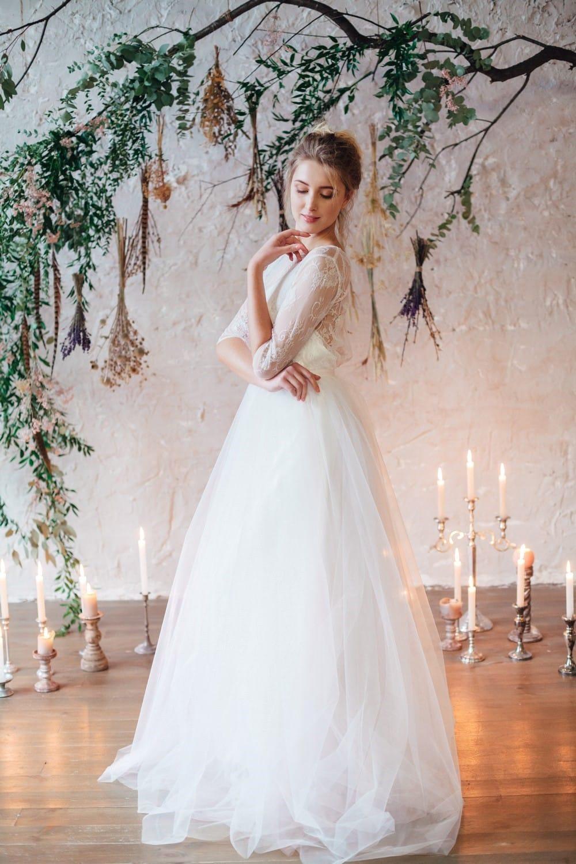 Свадебное платье SINTIA, коллекция THE LOOK OF ANGEL, бренд RARE BRIDAL, фото 4