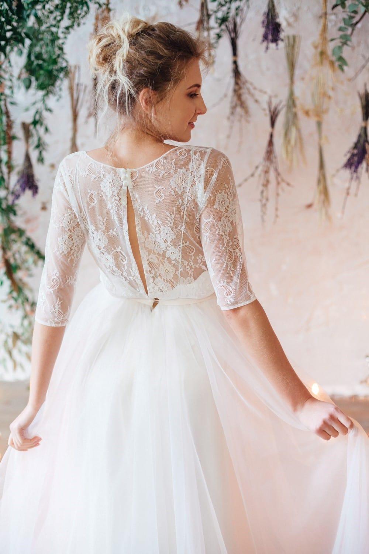 Свадебное платье SINTIA, коллекция THE LOOK OF ANGEL, бренд RARE BRIDAL, фото 8+