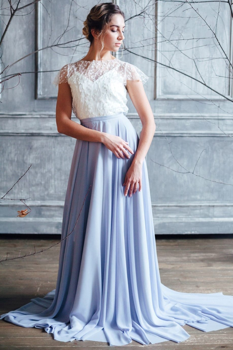 Вечернее платье STELLA, коллекция FLOWER MAGIC, бренд RARE BRIDAL, фото 1