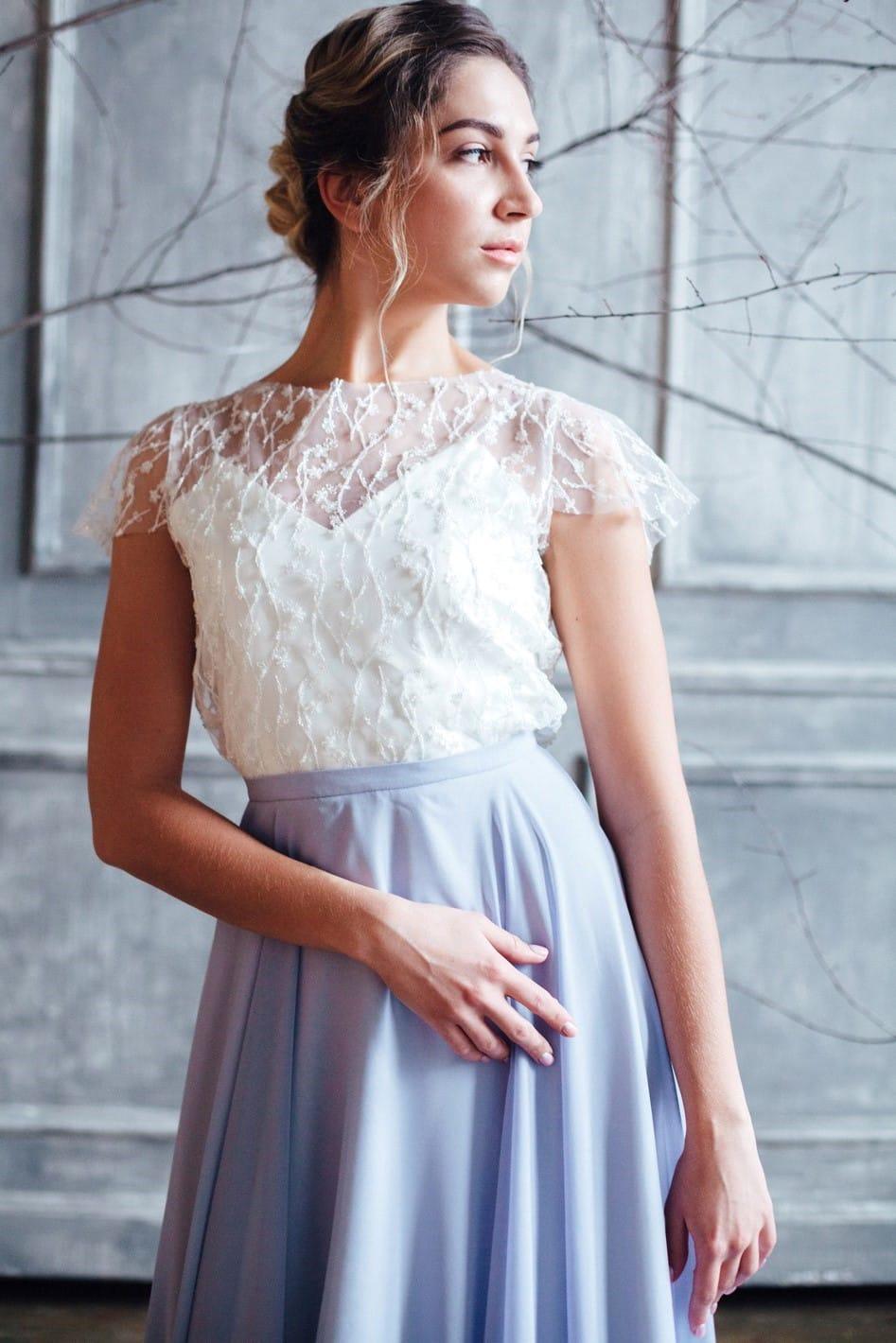 Вечернее платье STELLA, коллекция FLOWER MAGIC, бренд RARE BRIDAL, фото 3