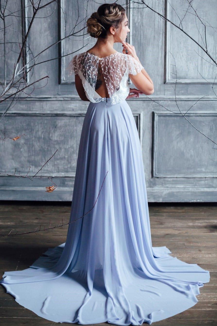 Вечернее платье STELLA, коллекция FLOWER MAGIC, бренд RARE BRIDAL, фото 4