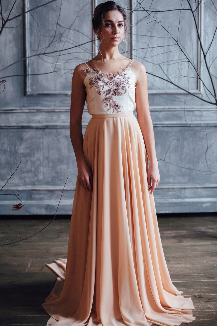 Вечернее платье VANI, коллекция FLOWER MAGIC, бренд RARE BRIDAL, фото 1