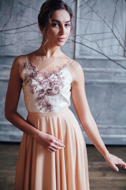 Вечернее платье VANI, коллекция FLOWER MAGIC, бренд RARE BRIDAL, фото 2