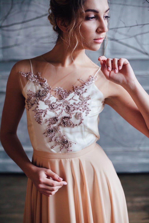 Вечернее платье VANI, коллекция FLOWER MAGIC, бренд RARE BRIDAL, фото 4