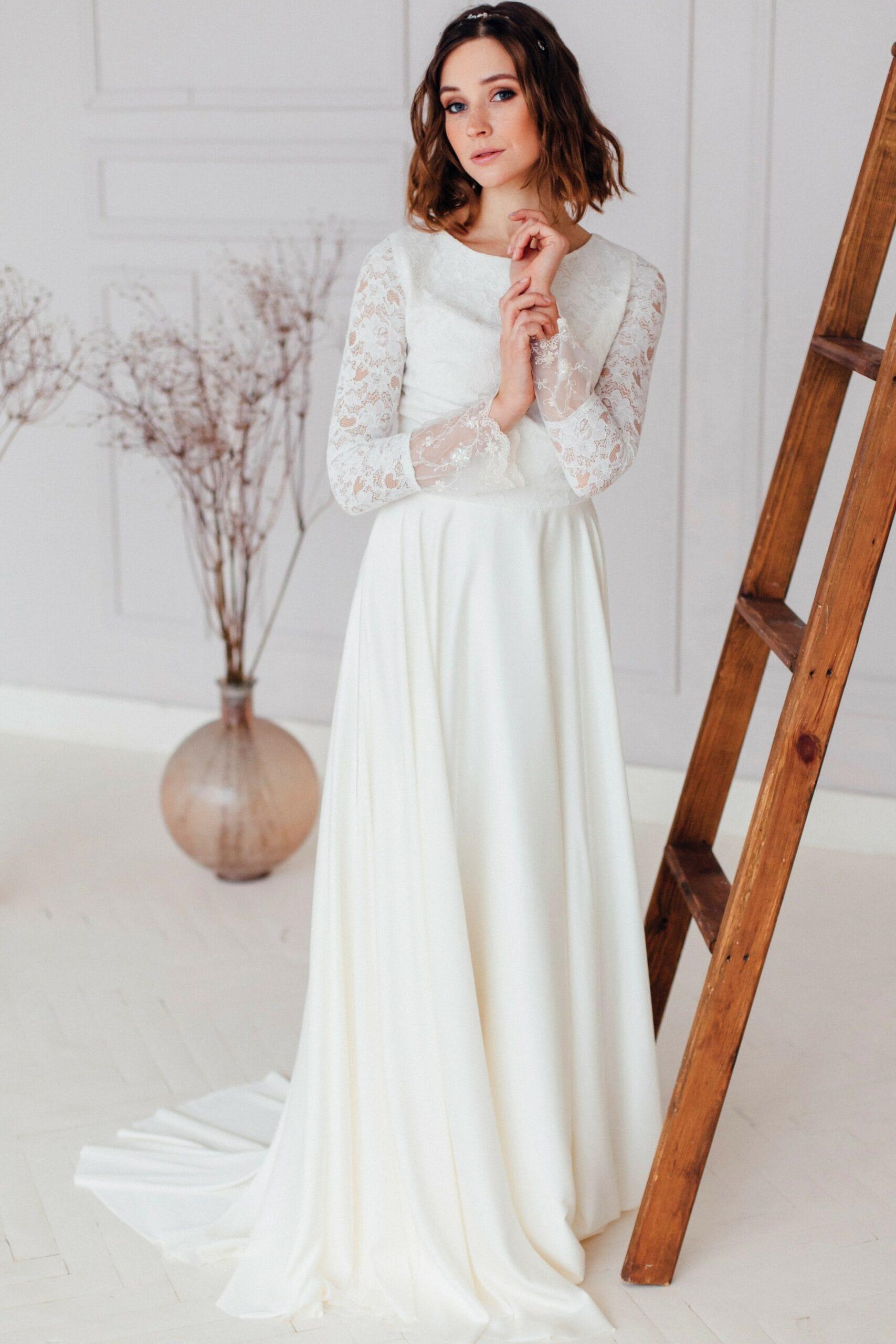 Свадебное платье ZHINA, коллекция REFINED ELEGANCE, бренд OKA NOMO, фото 1