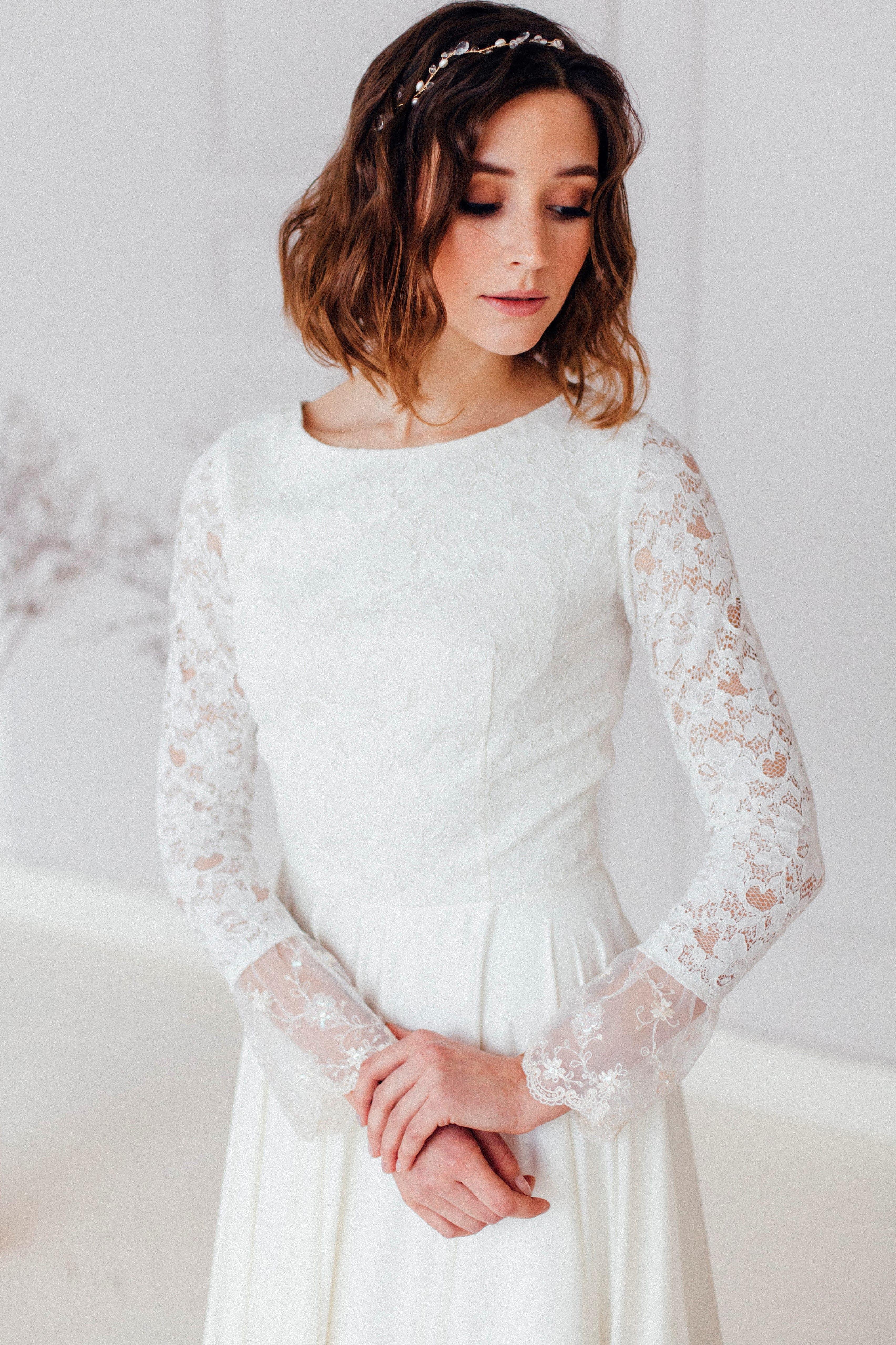 Свадебное платье ZHINA, коллекция REFINED ELEGANCE, бренд OKA NOMO, фото 2