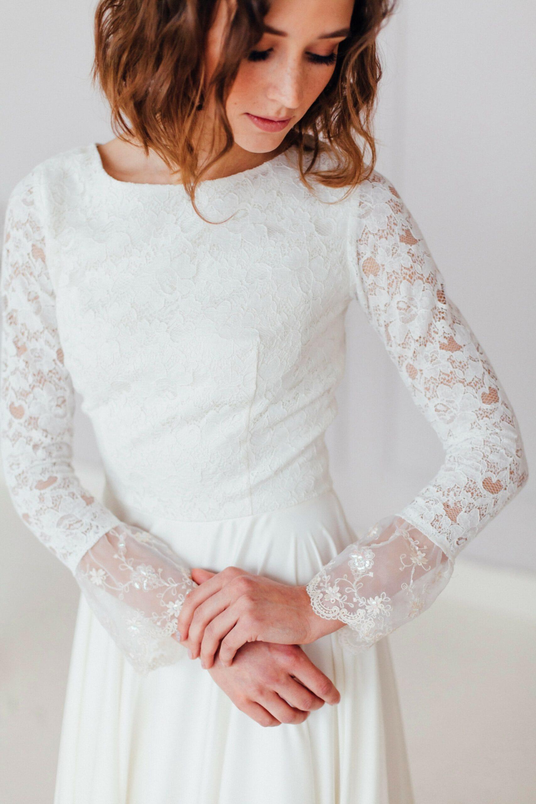Свадебное платье ZHINA, коллекция REFINED ELEGANCE, бренд OKA NOMO, фото 3
