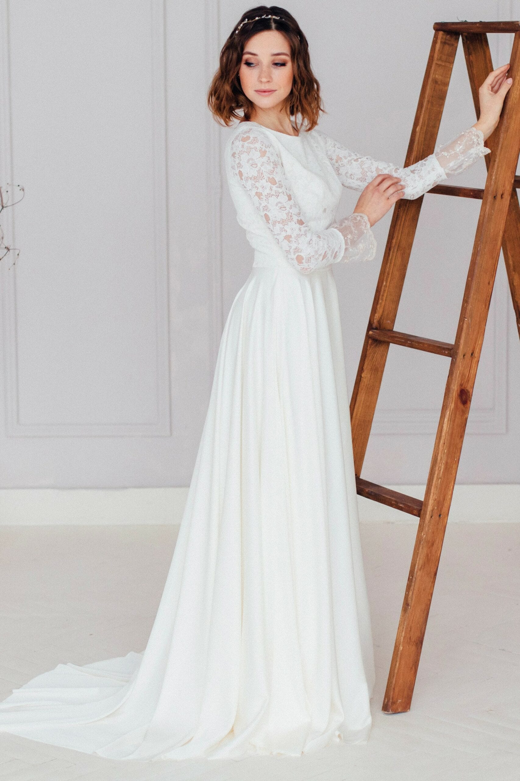 Свадебное платье ZHINA, коллекция REFINED ELEGANCE, бренд OKA NOMO, фото 4