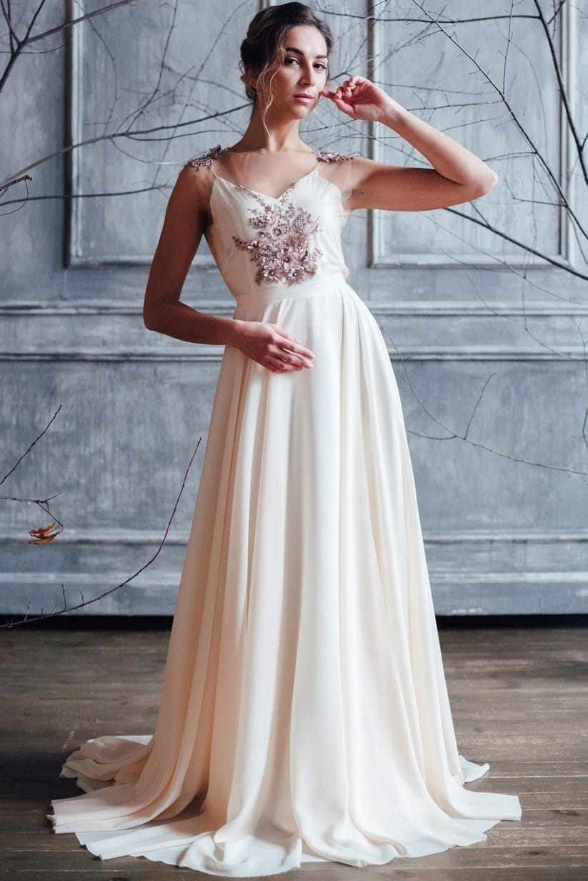 Вечернее платье ZION, коллекция FLOWER MAGIC, бренд RARE BRIDAL, фото 1