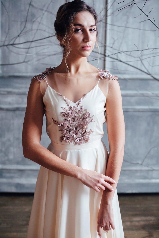 Вечернее платье ZION, коллекция FLOWER MAGIC, бренд RARE BRIDAL, фото 2