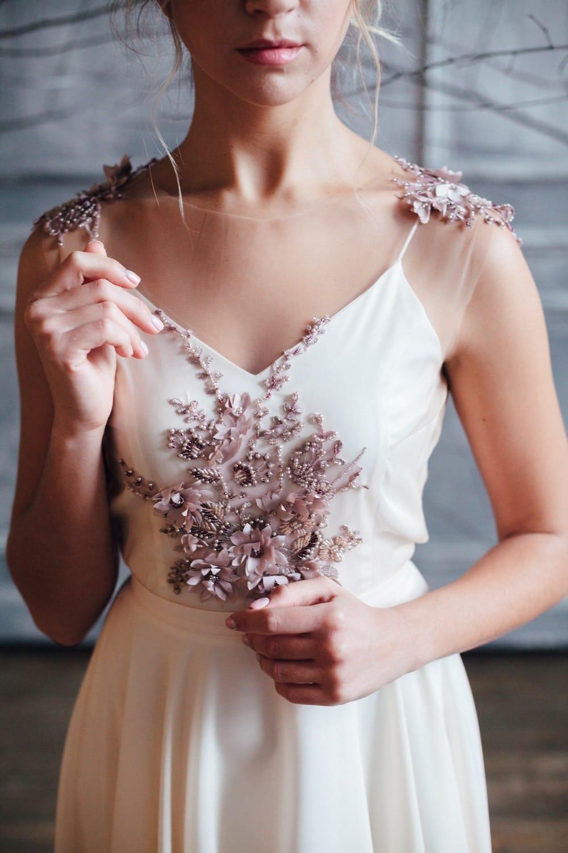 Вечернее платье ZION, коллекция FLOWER MAGIC, бренд RARE BRIDAL, фото 3