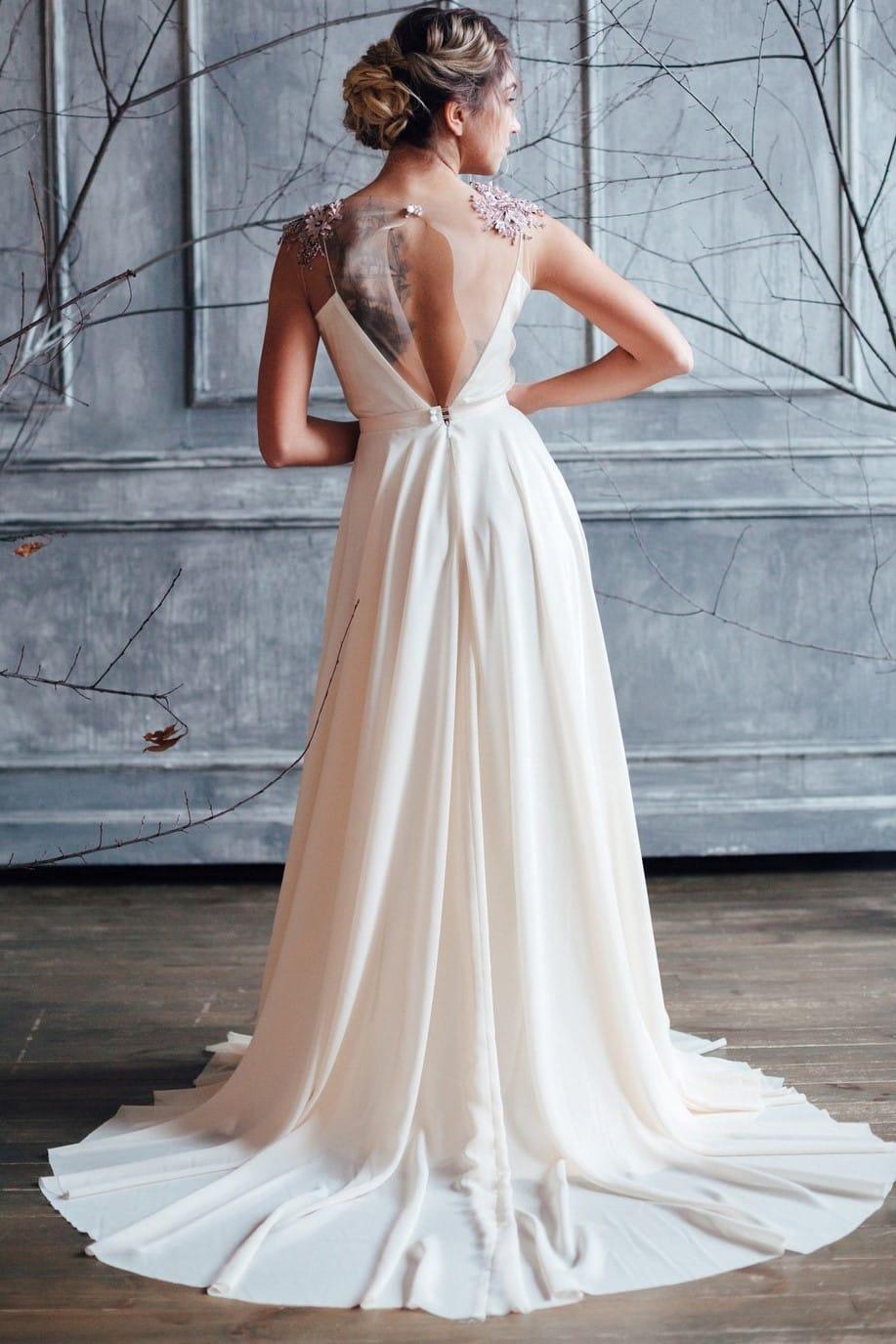 Вечернее платье ZION, коллекция FLOWER MAGIC, бренд RARE BRIDAL, фото 4
