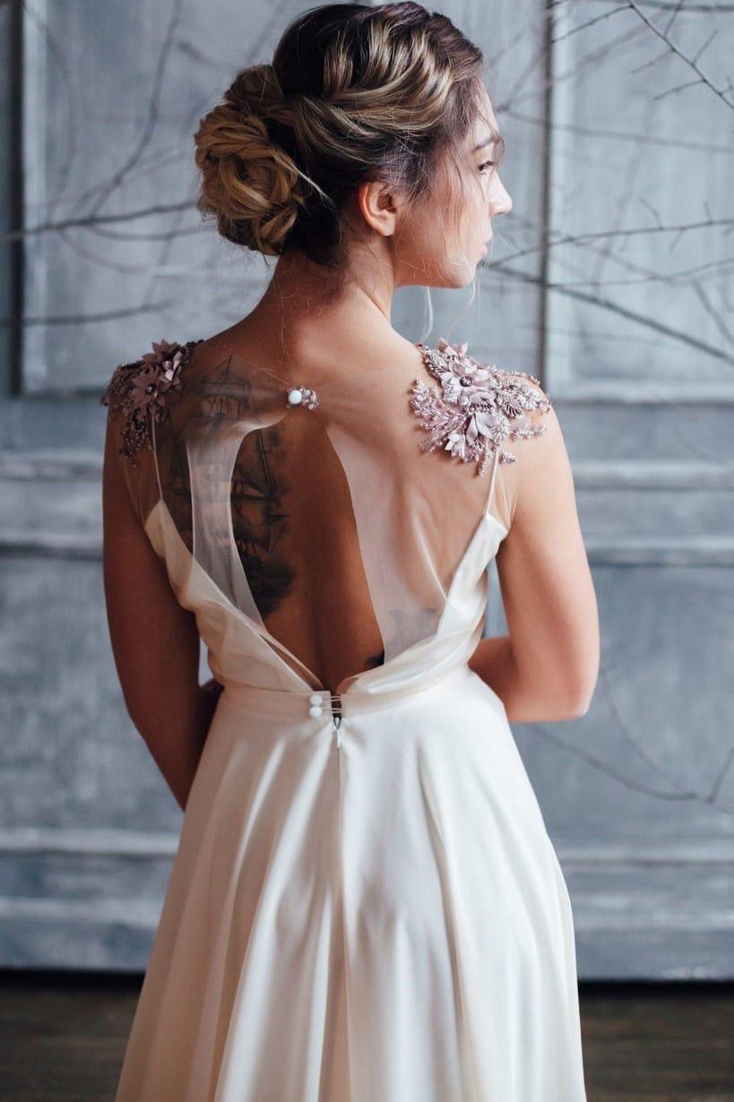 Вечернее платье ZION, коллекция FLOWER MAGIC, бренд RARE BRIDAL, фото 5